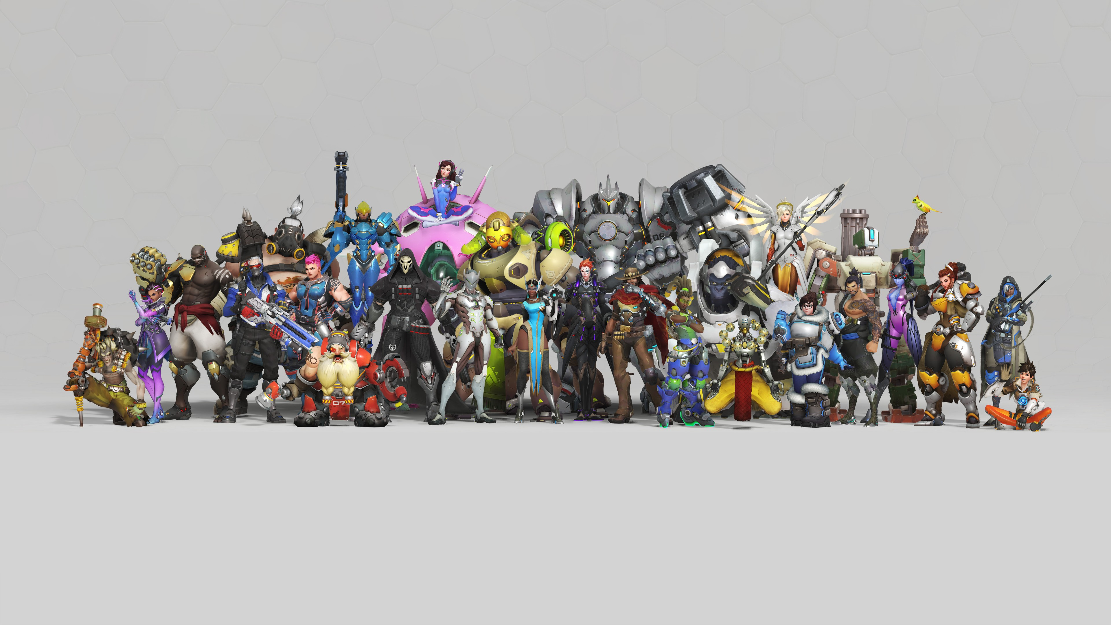 Wallpaper Overwatch Anniversary Heroes 8k Games 18678