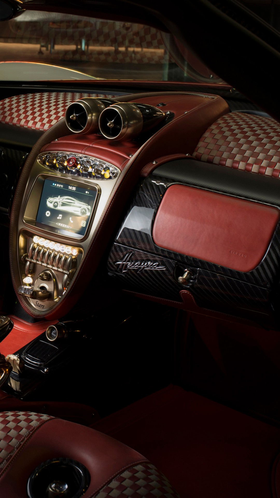 Wallpaper Pagani Huayra Lampo Interior 4k Cars Bikes 17120