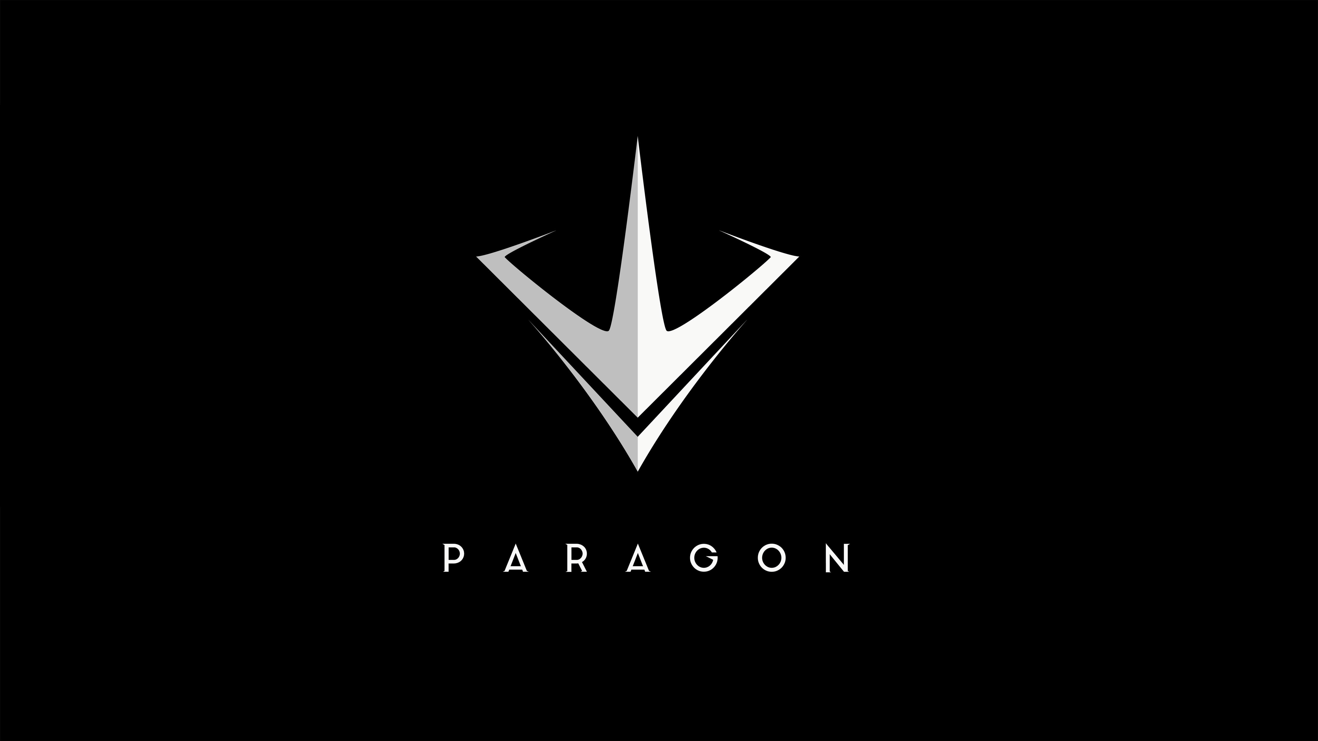 Wallpaper Paragon Logo Moba Best Games Pc Ps4 Games