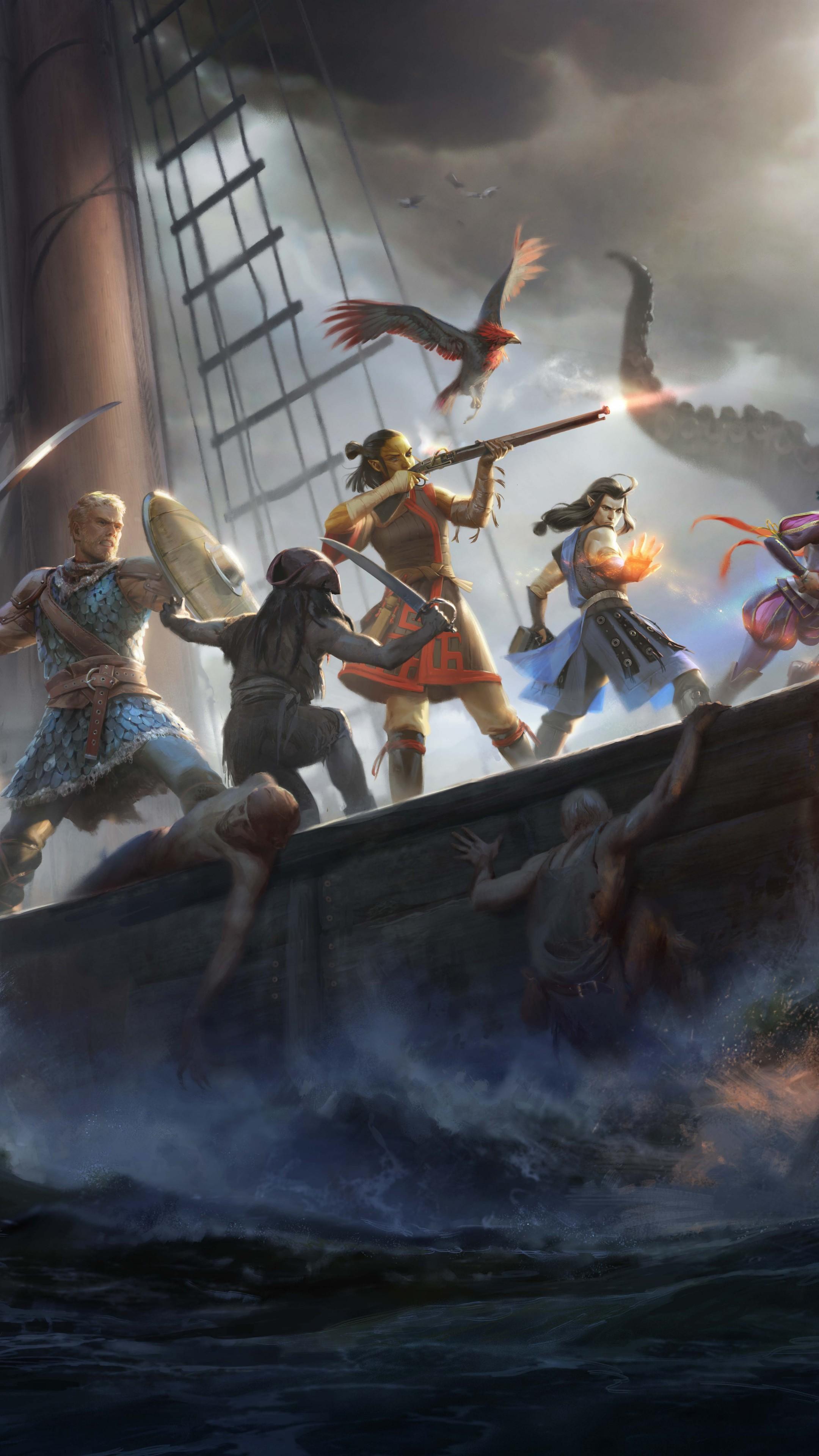 Wallpaper Pillars Of Eternity 2 Deadfire Screenshot 8k Games