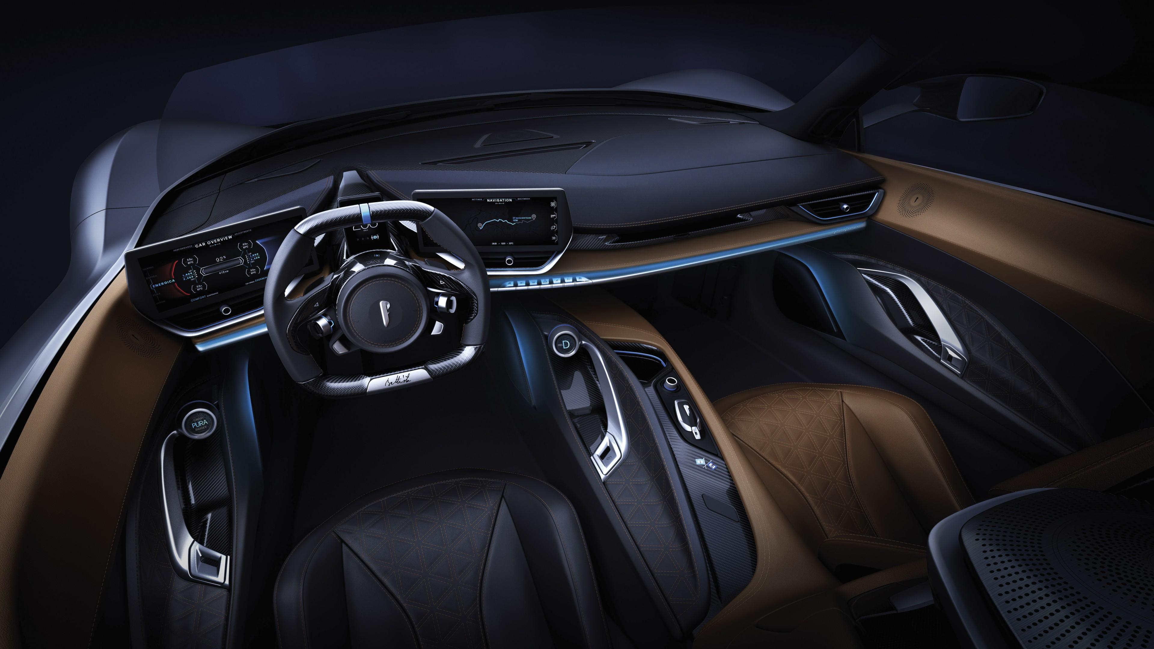 Audi Sports Car >> Wallpaper Pininfarina Battista, supercar, Geneva Motor Show 2019, 8K, Cars & Bikes #21373