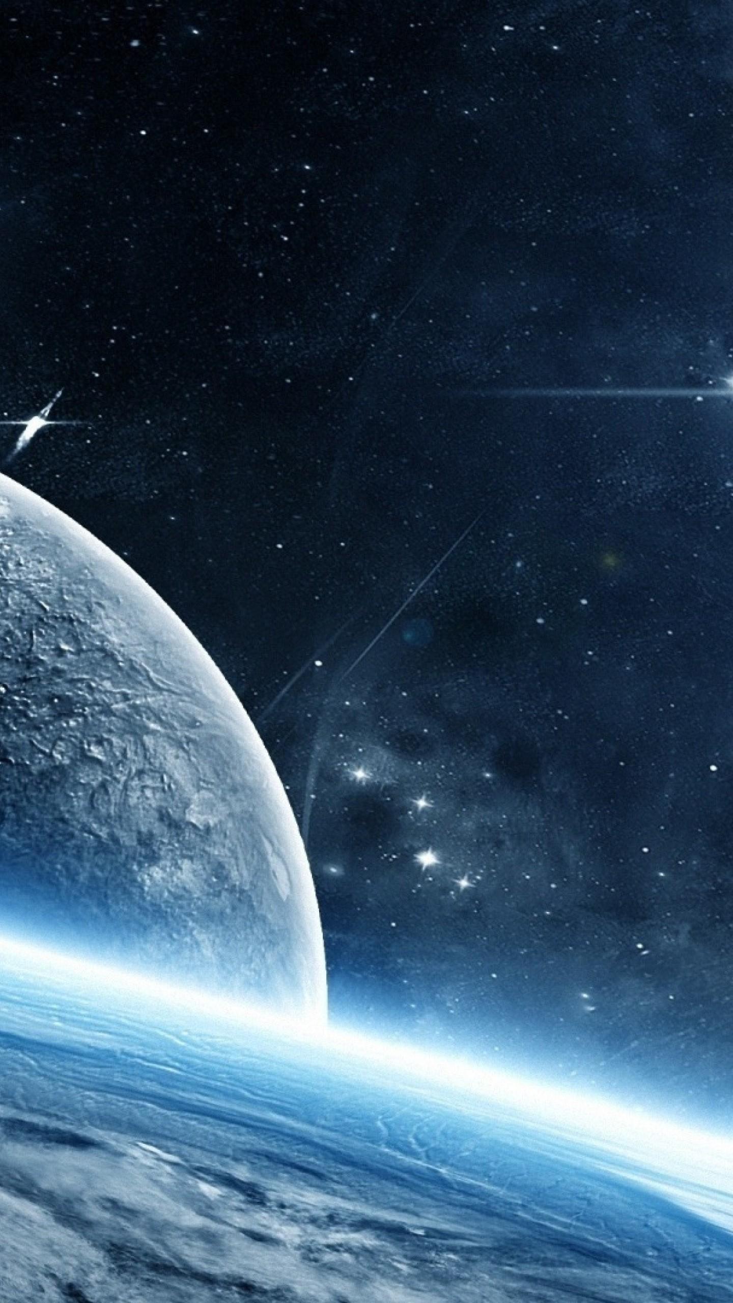 Wallpaper planet galaxy stars 4k Space 16848