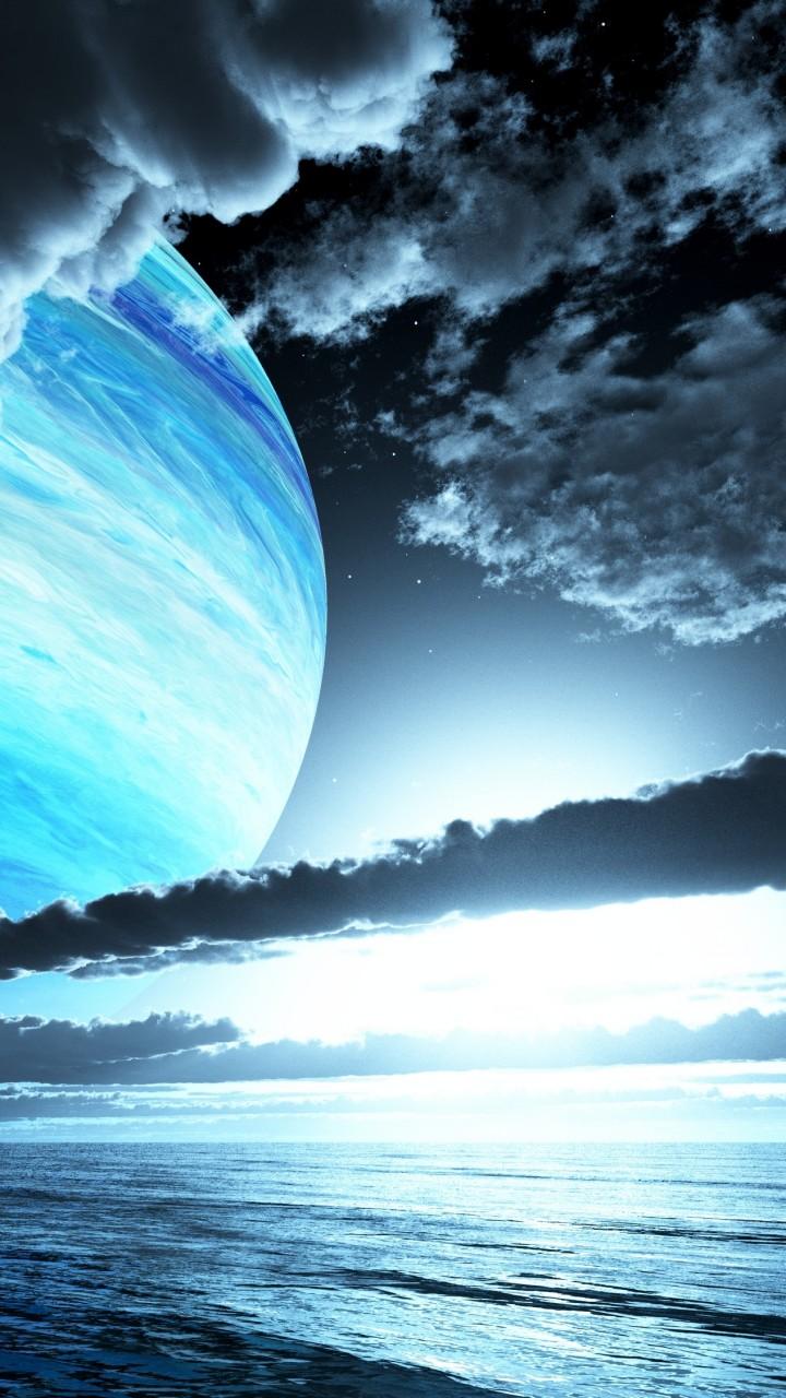 Wallpaper Planet Clouds Ocean 4k Nature 16031