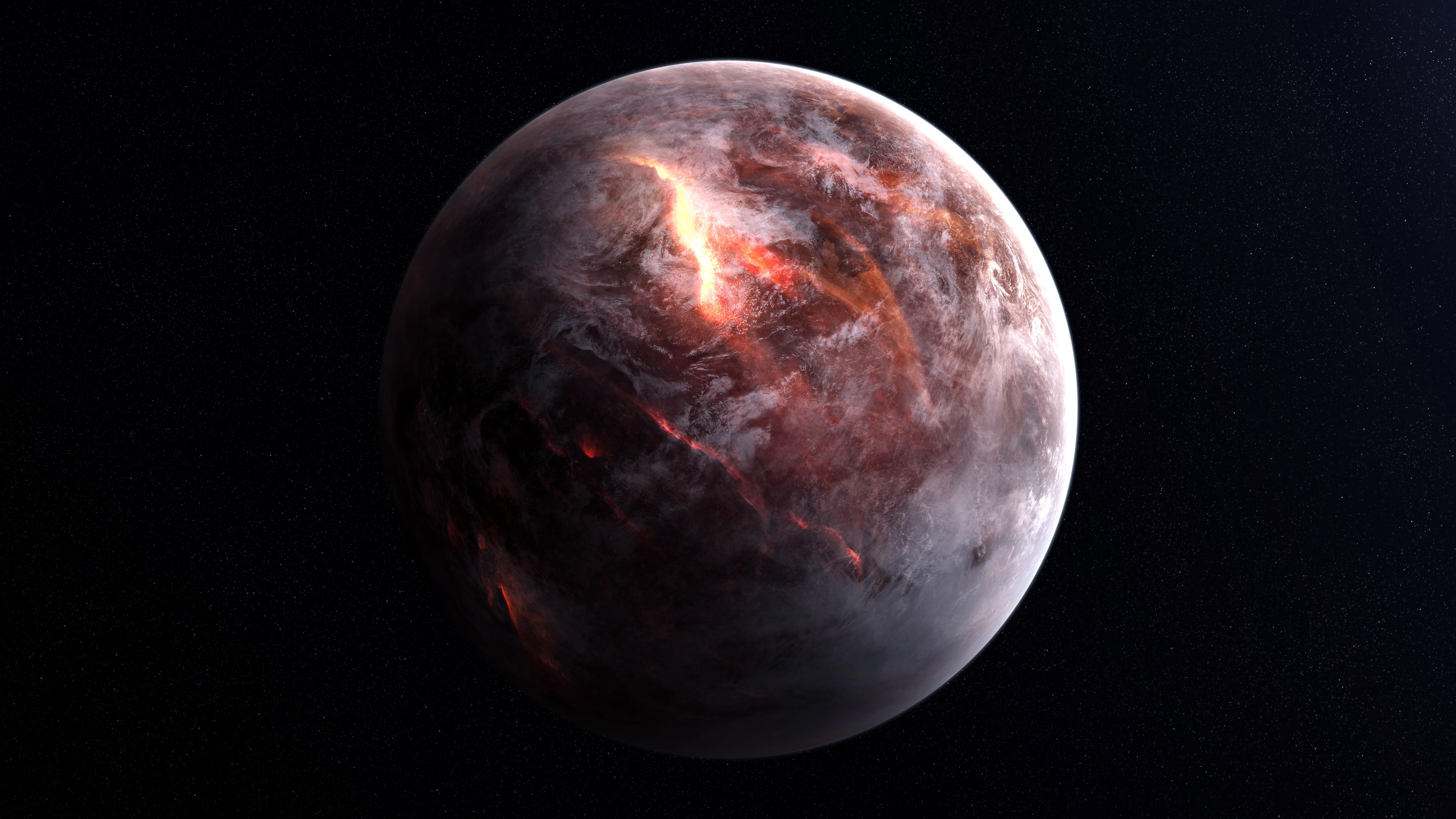 Wallpaper planet, 8k, Space #15627