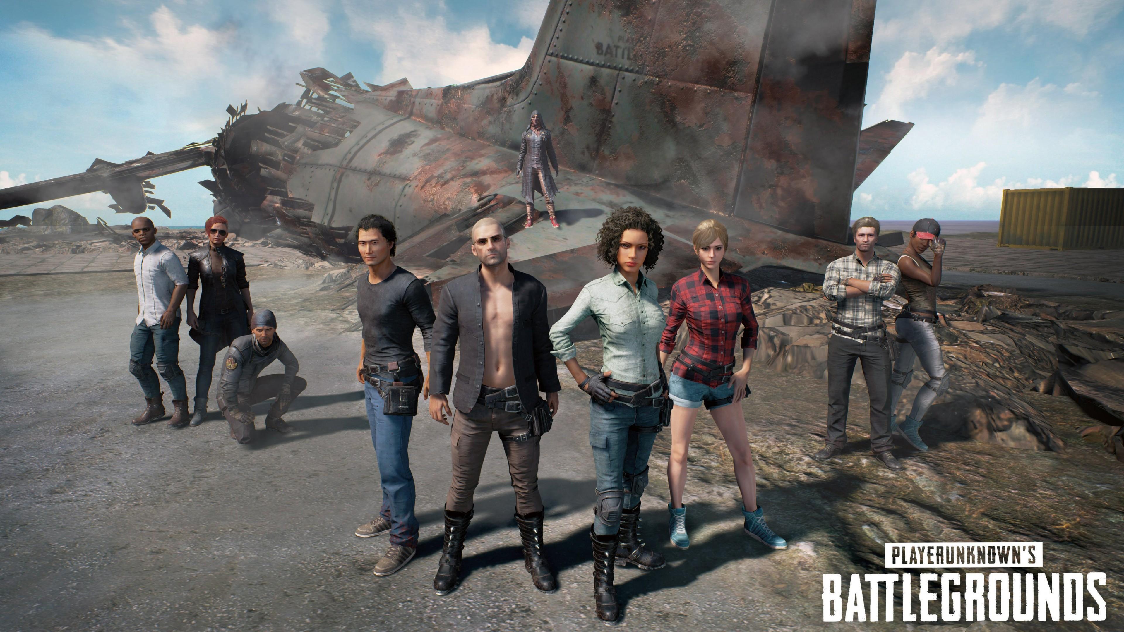 Wallpaper Playerunknown S Battlegrounds E3 2017 Screenshot 4k
