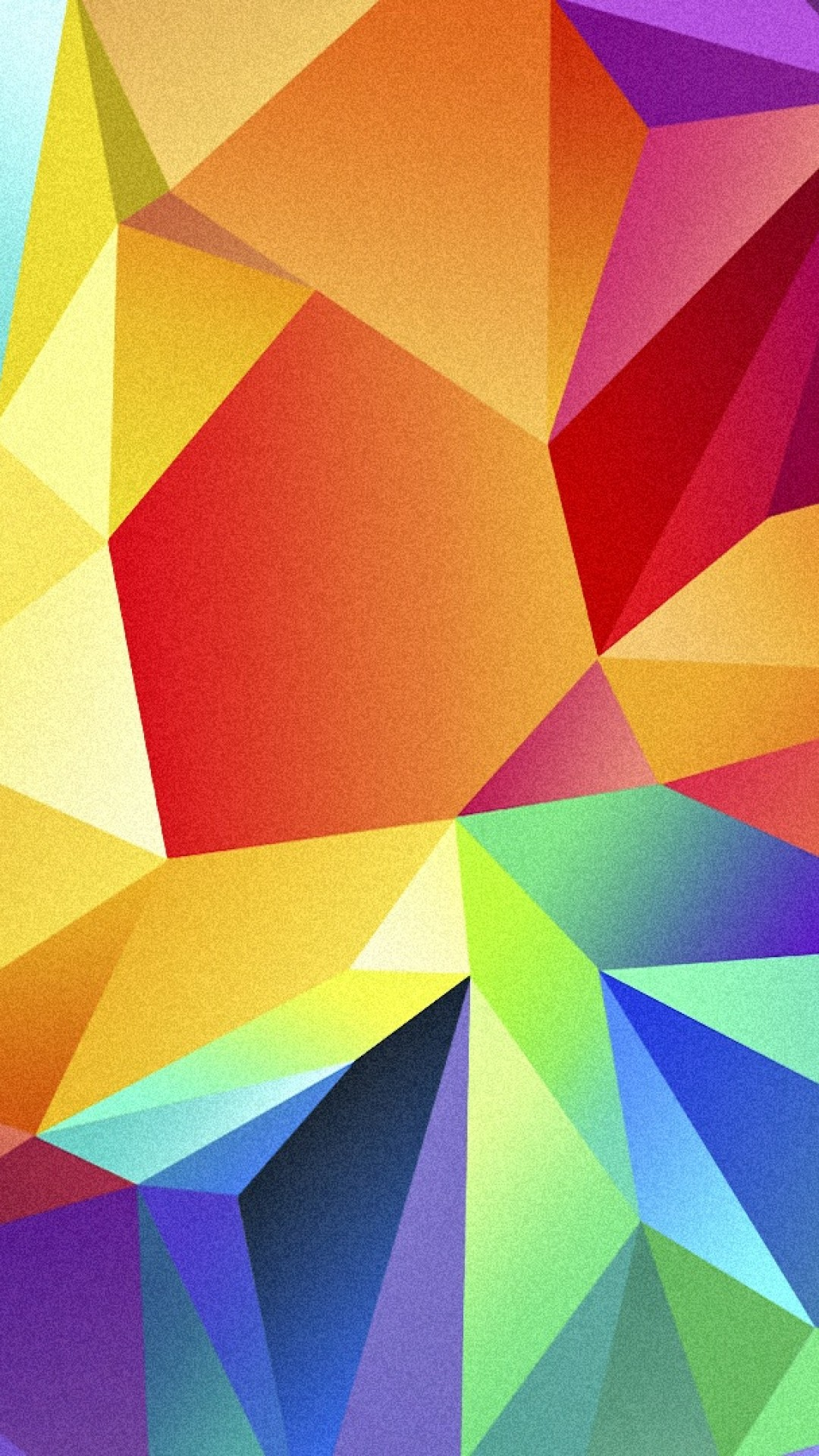 polygon 1080x1920 4k hd wallpaper android triangle background orange 3522
