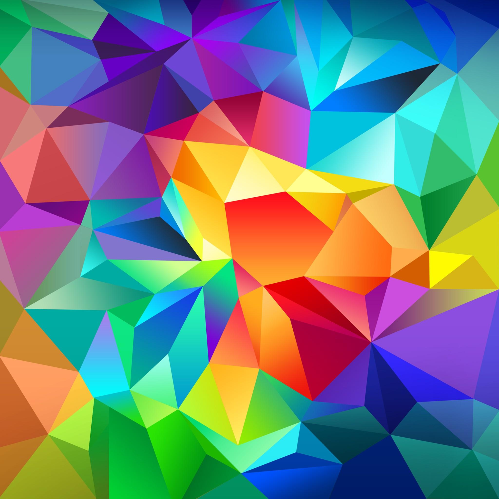 Wallpaper polygon, 4k, HD wallpaper, android wallpaper