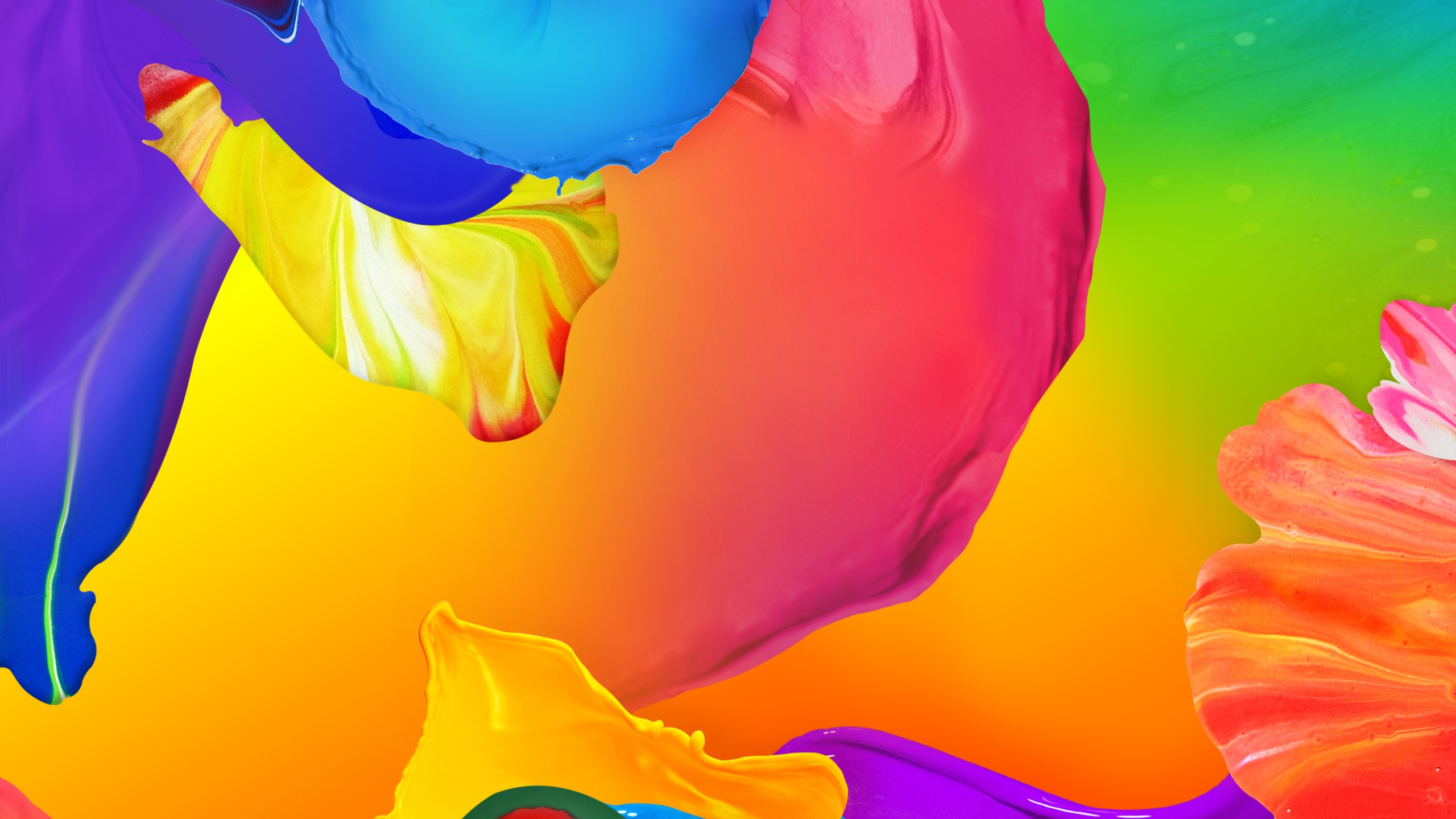 Wallpaper Polygon 4k HD Android Paint