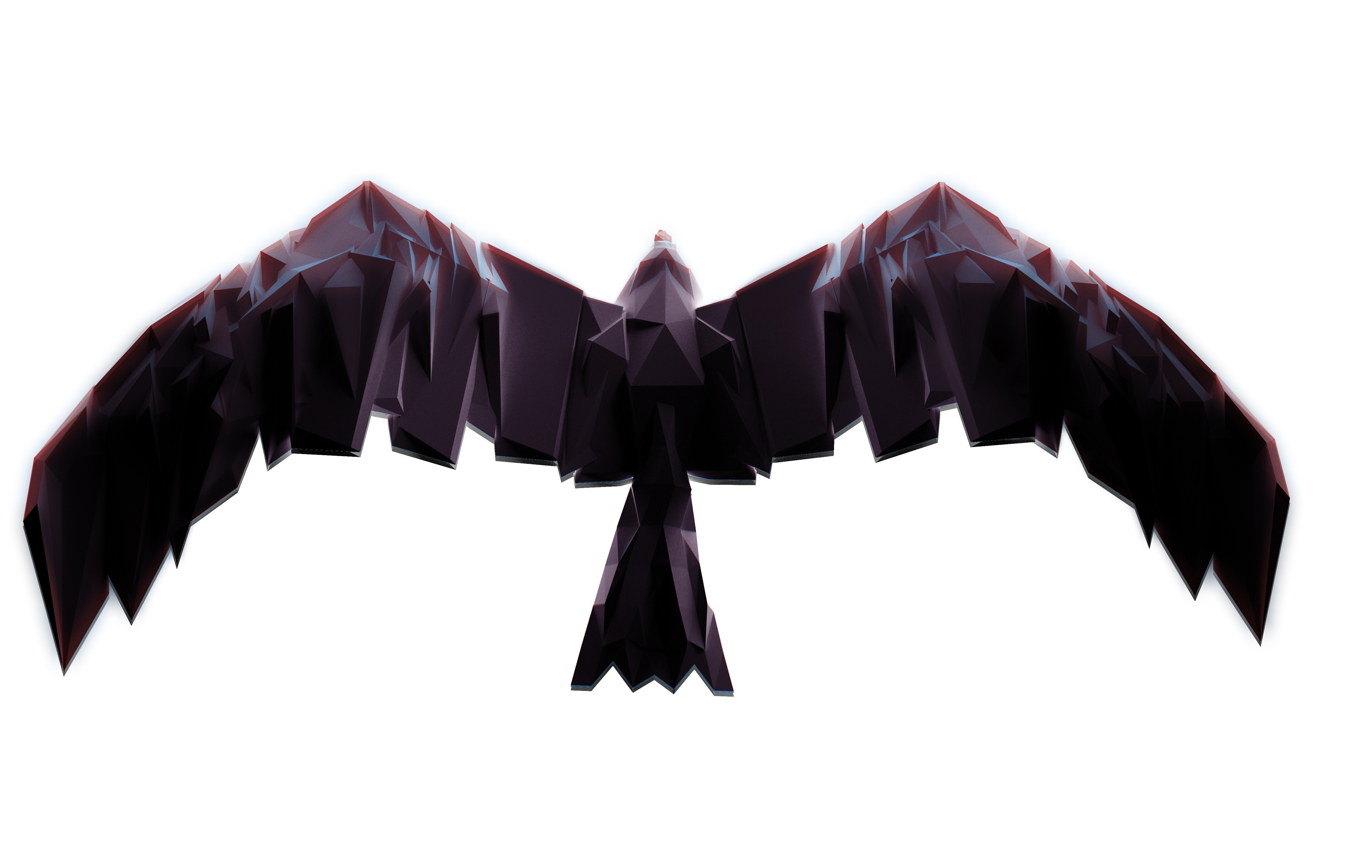 Polygon Wallpaper Abstract Backgrounds Polygon Bird