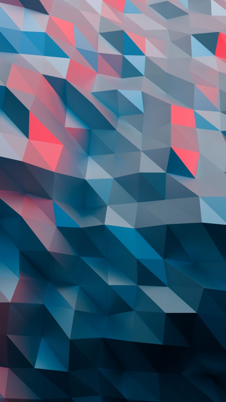 Wallpaper Polygon 4k Abstract 16202