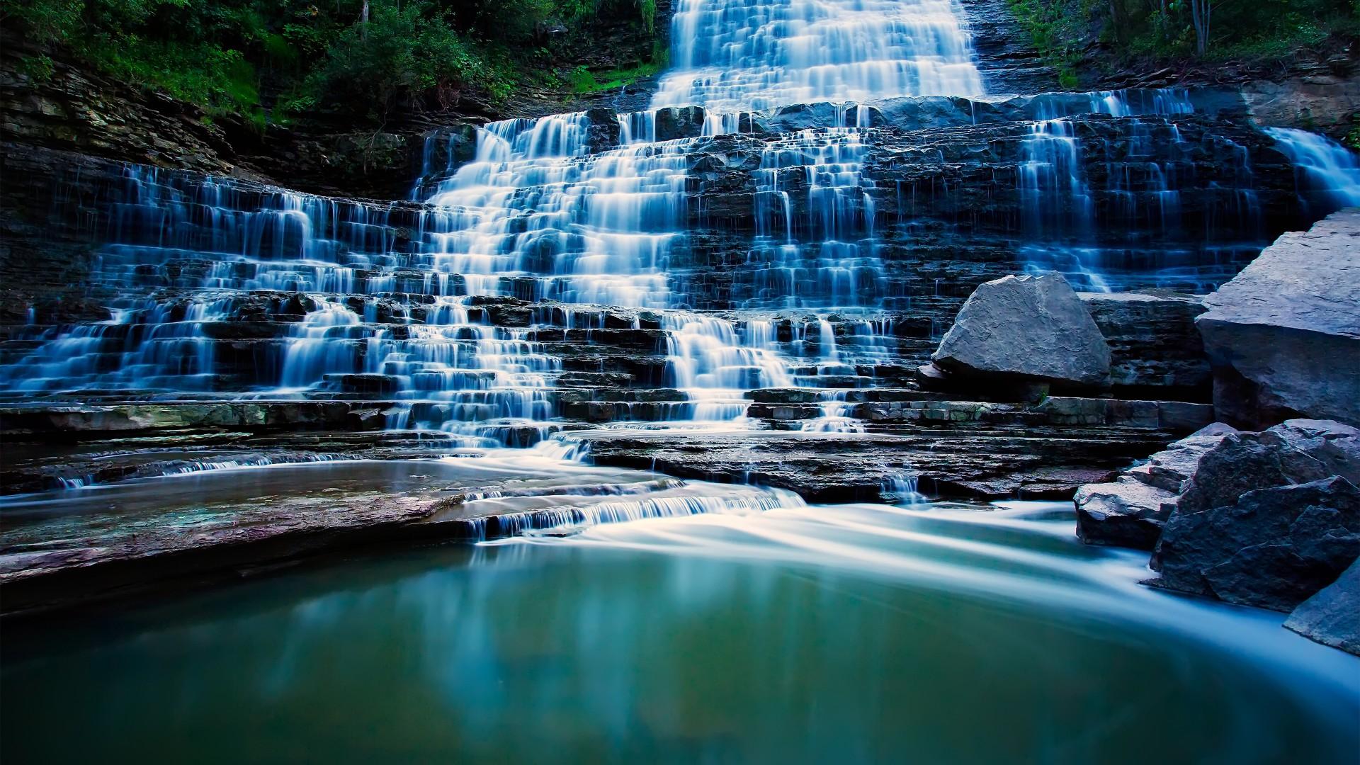 Wallpaper Pongour Waterfall 4k Hd Wallpaper Falls