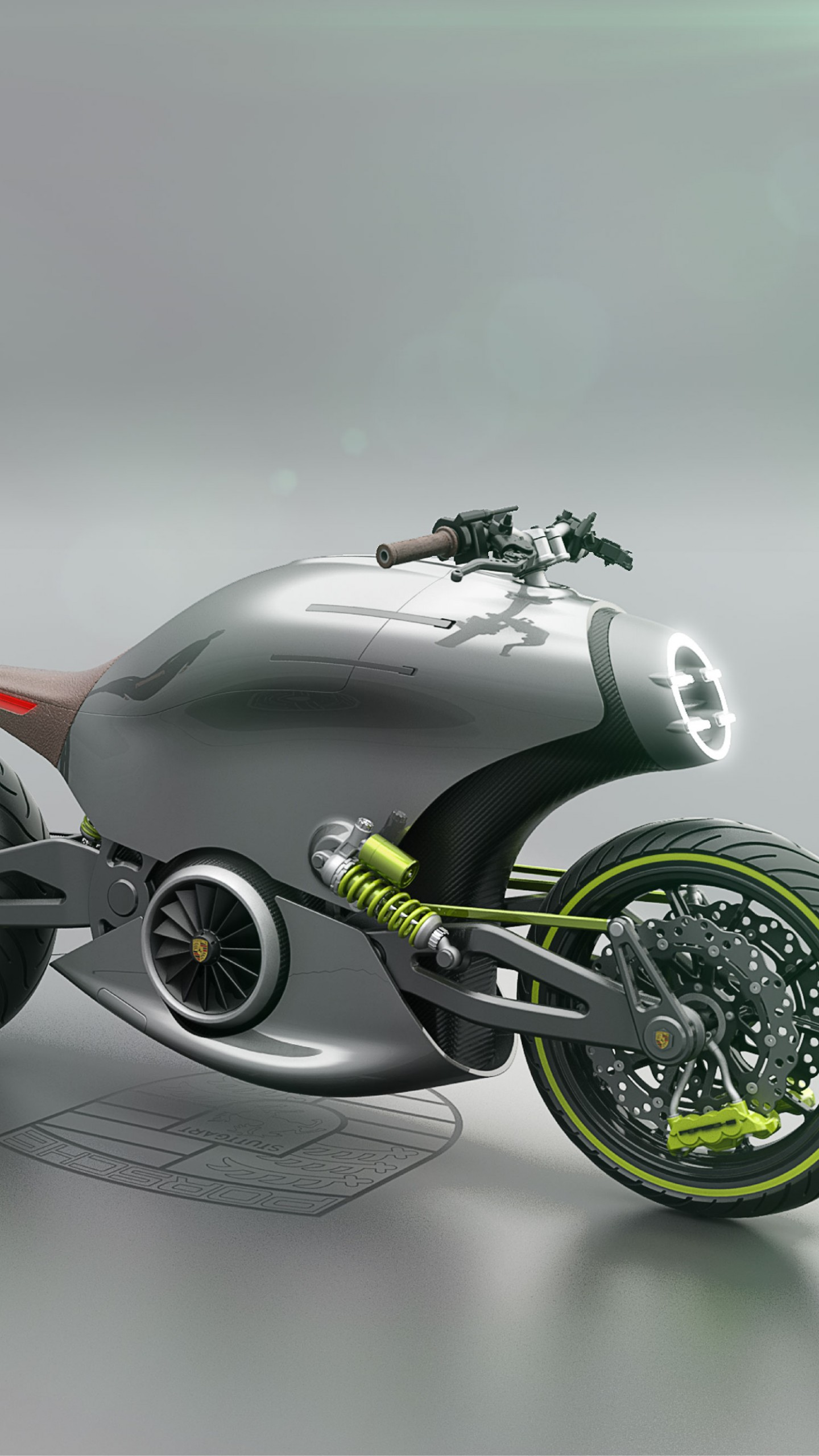 wallpaper porsche 618  electric motorcycle  4k  cars