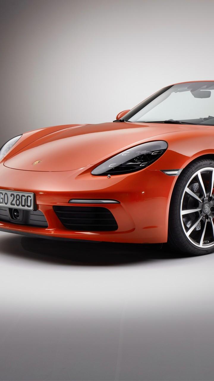 Wallpaper Porsche 718 Boxster S, sports car, red, Cars ...