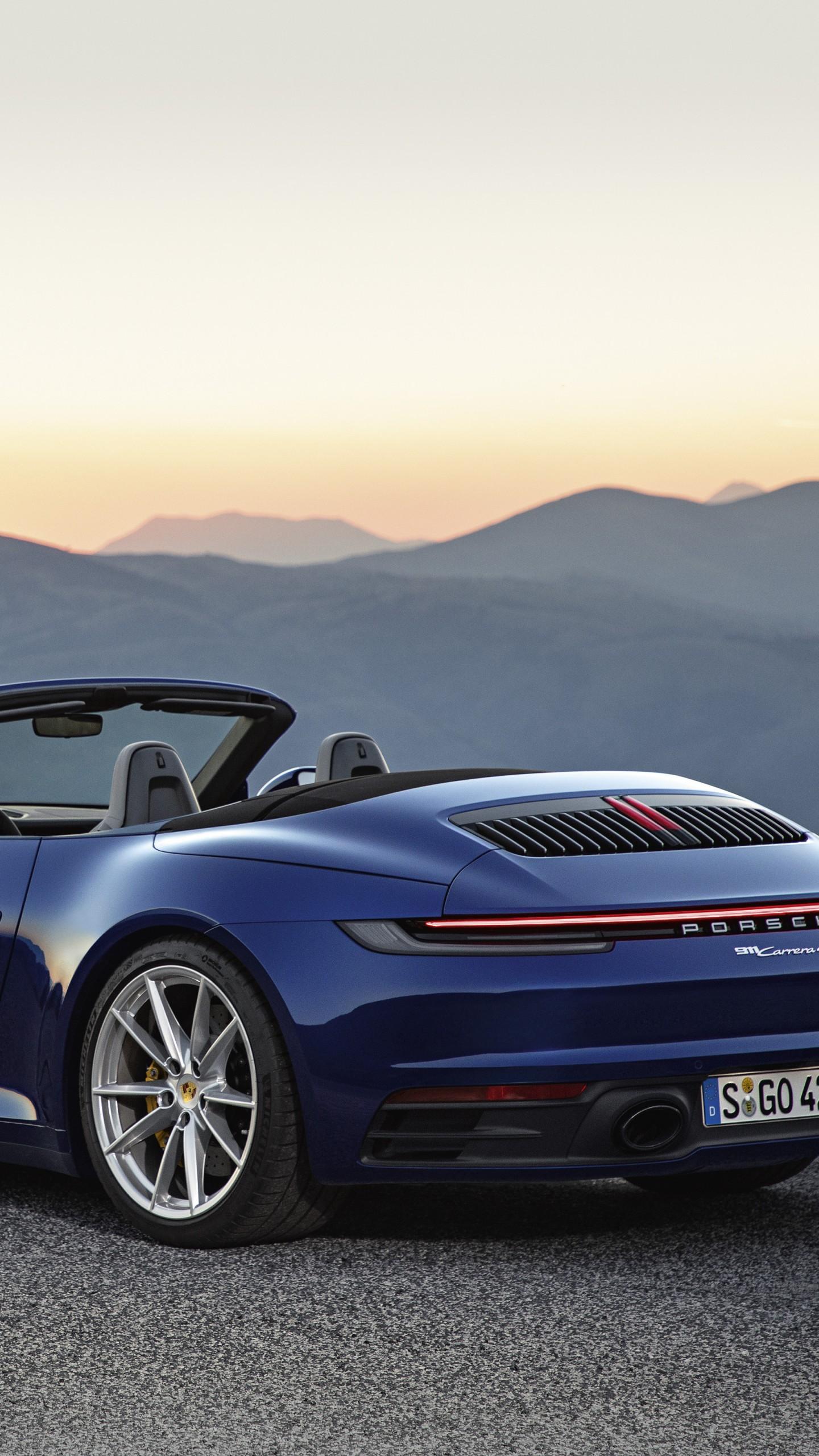 Wallpaper Porsche 911 Carrera 4s Cabriolet 2020 Cars