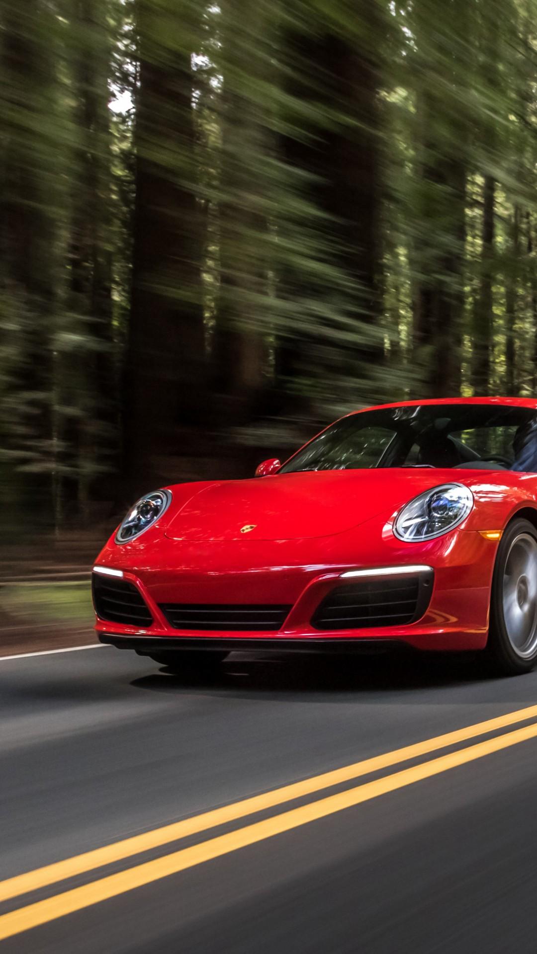 Wallpaper porsche 911 carrera 4s coupe red cars bikes - Porsche 911 carrera s wallpaper ...