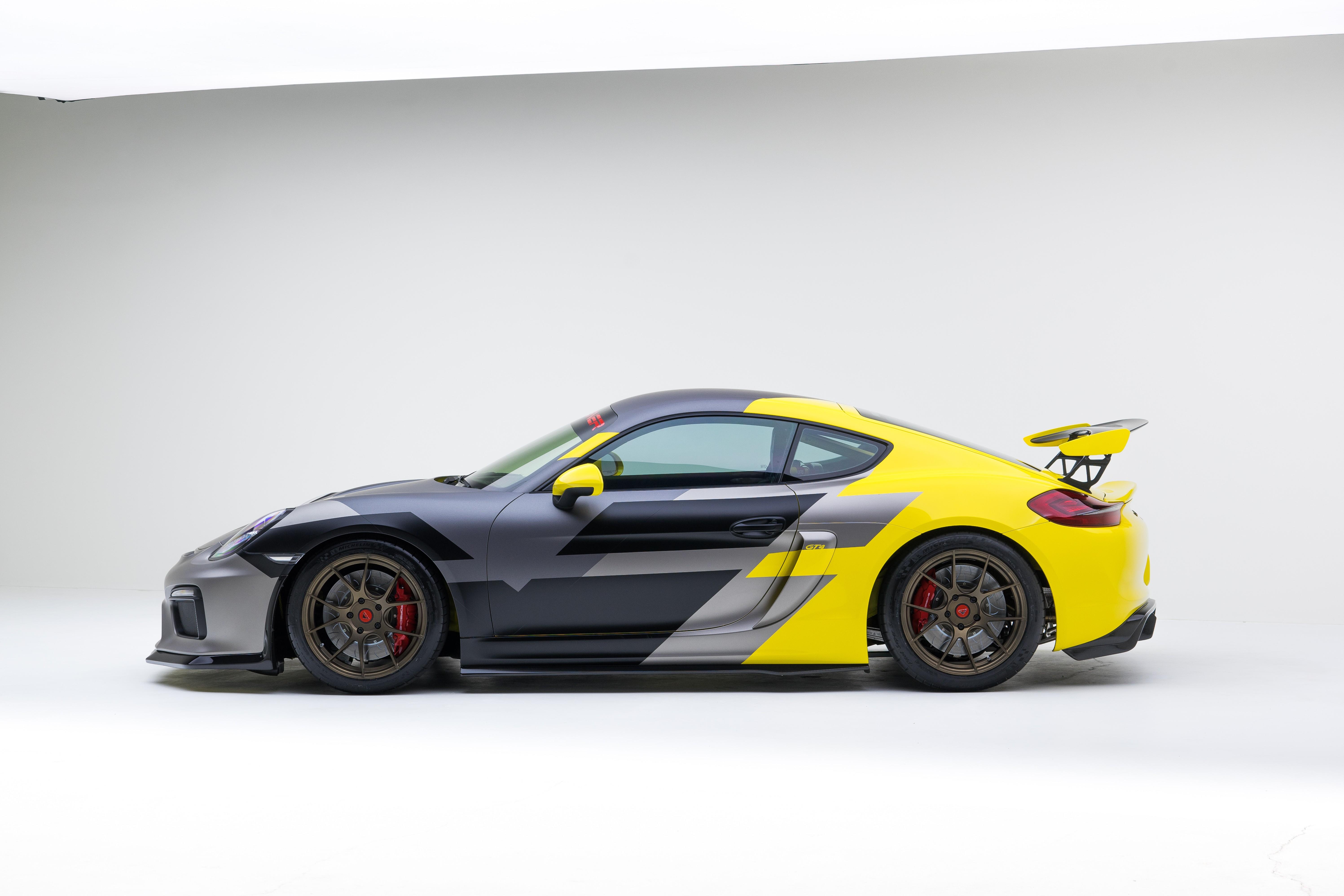 Wallpaper Porsche Cayman Gt4 Vorsteiner Tuning Sport Car