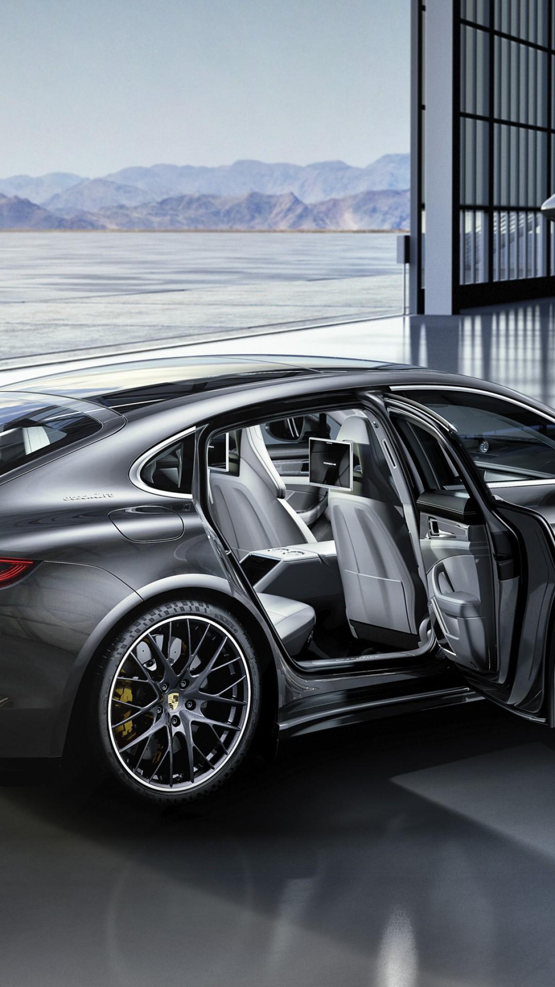 Aston Martin Vantage >> Wallpaper Porsche Panamera Turbo, silver, interior, Cars ...