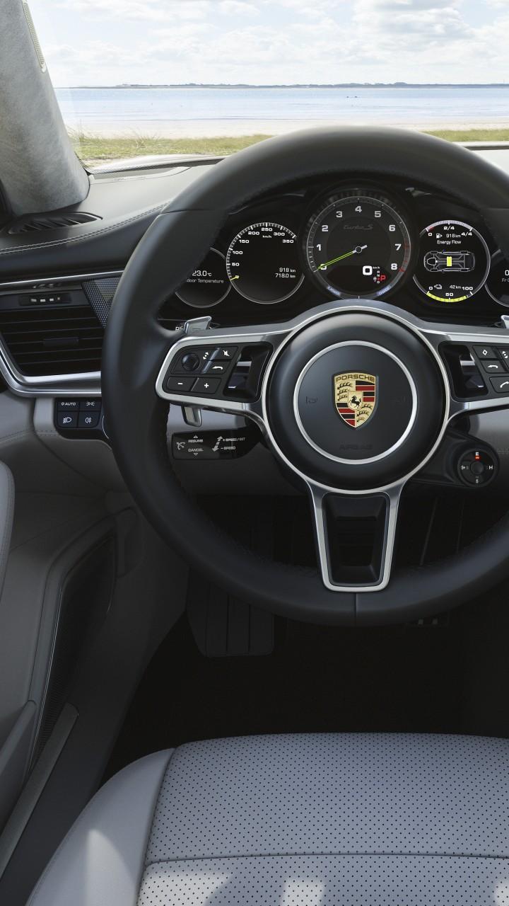 Wallpaper Porsche Panamera Turbo S E Hybrid Sport Turismo