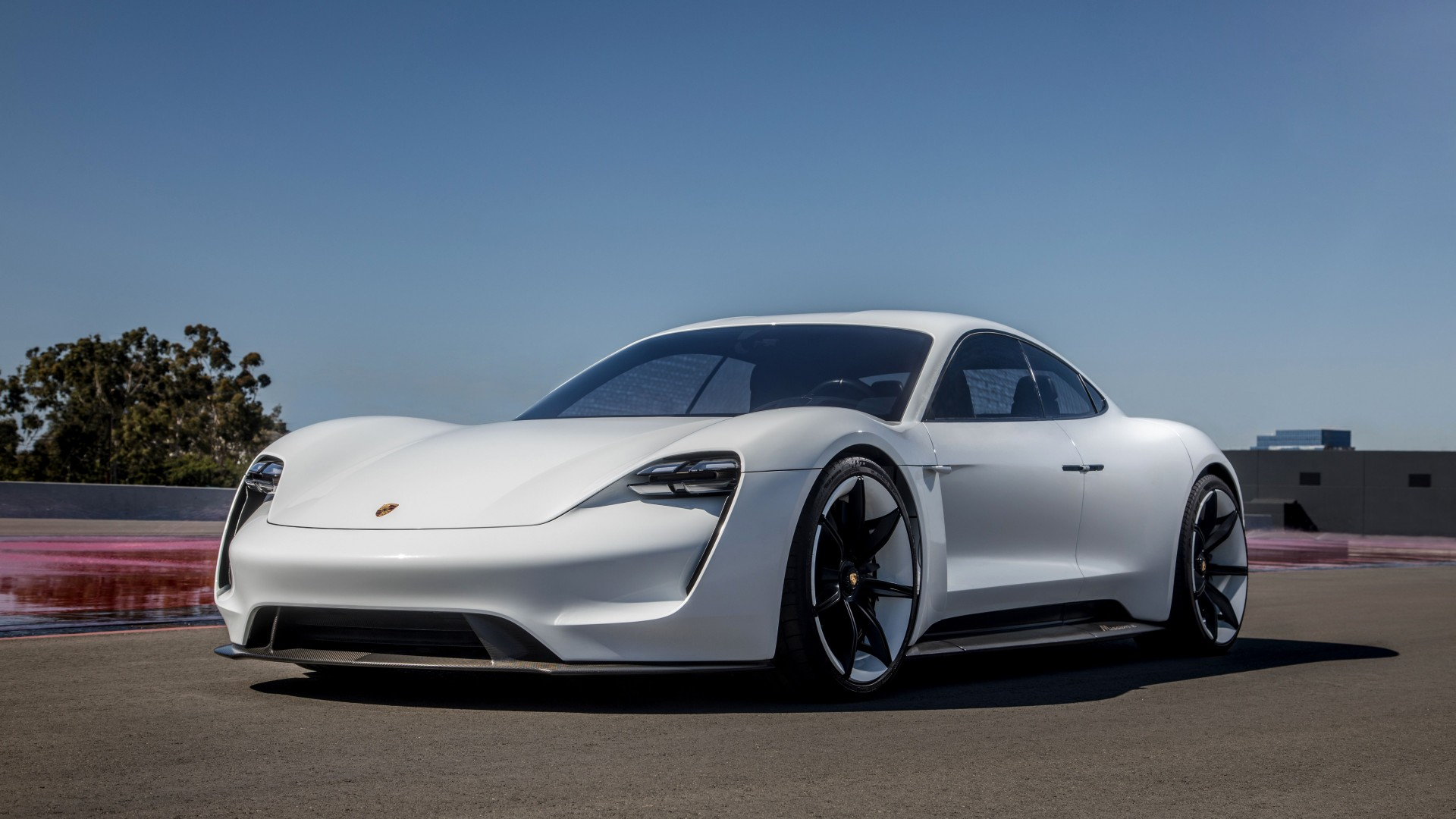 Wallpaper Porsche Taycan Electric Car Supercar 2020 Cars 4k