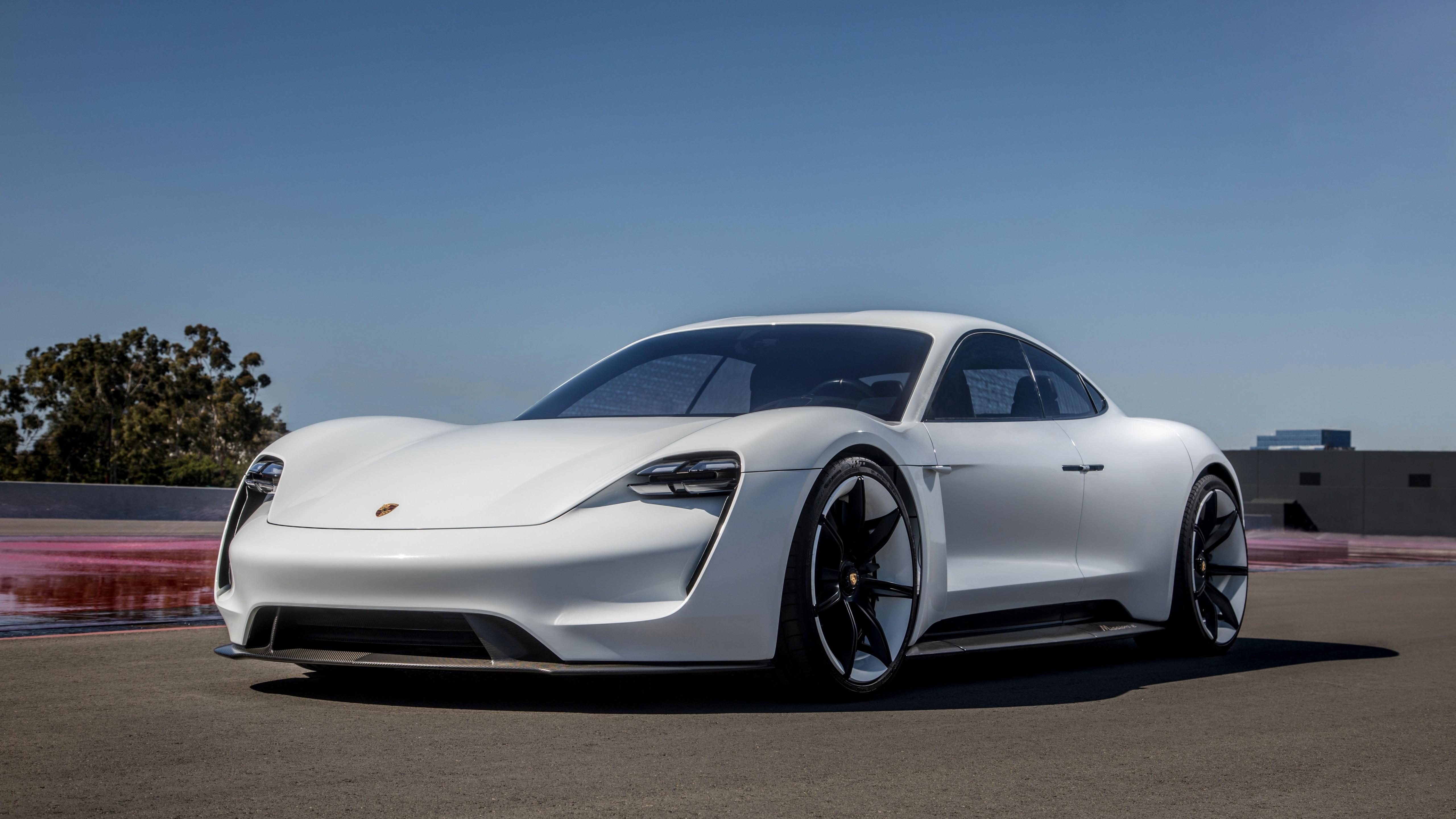 Wallpaper Porsche Taycan Electric Car Supercar 2020