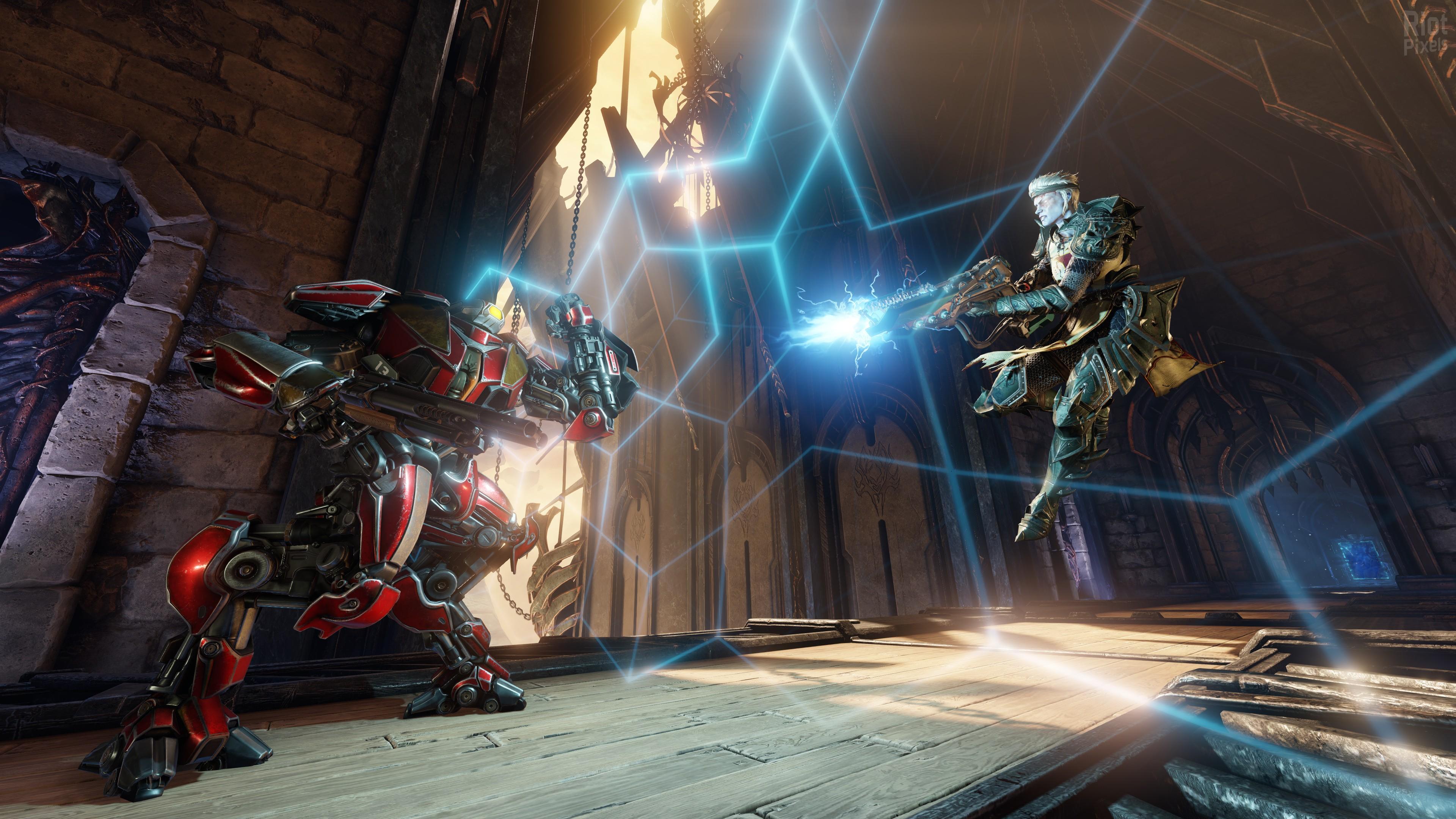 Wallpaper Quake Champions Shooter Monster Best Games