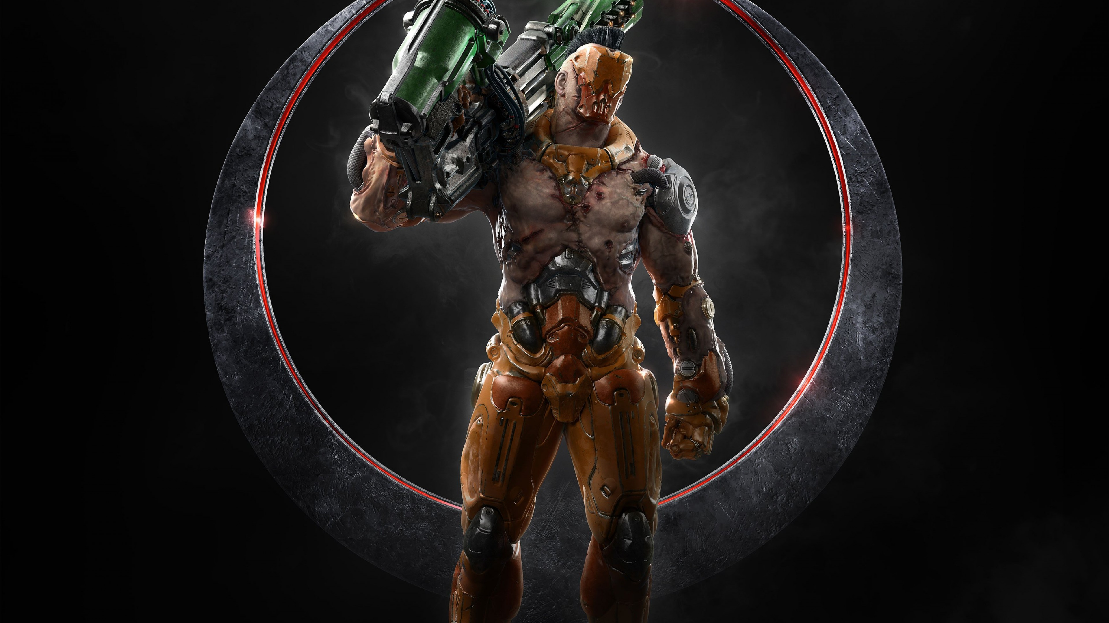 Wallpaper Quake Champions, shooter, Visor, best games, pc