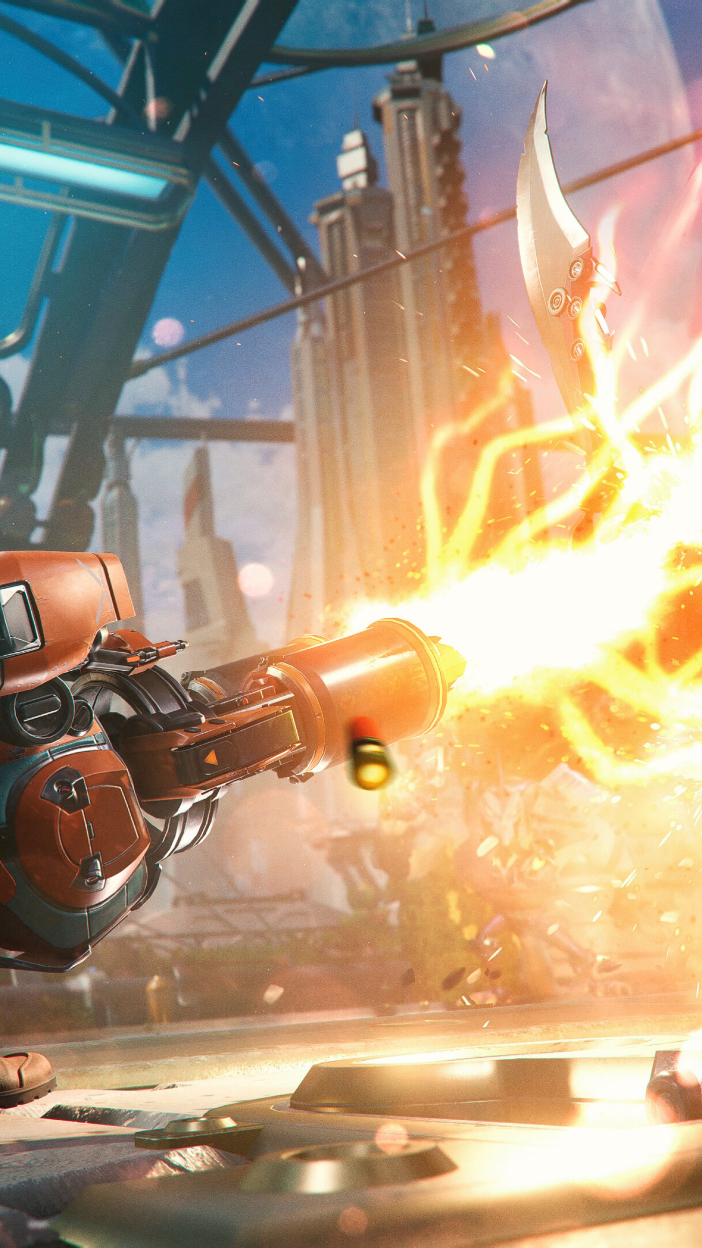 Wallpaper Ratchet Clank Rift Apart Gameplay Playstation 5