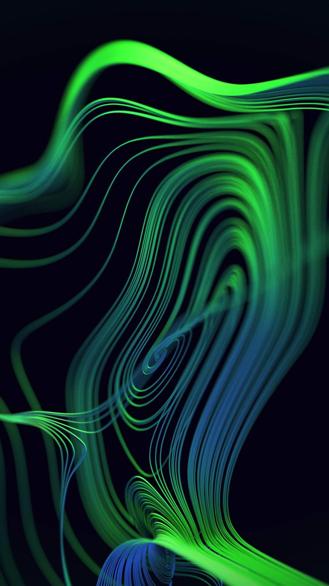 Wallpaper Razer Phone 2, abstract, colorful, HD, OS #20750