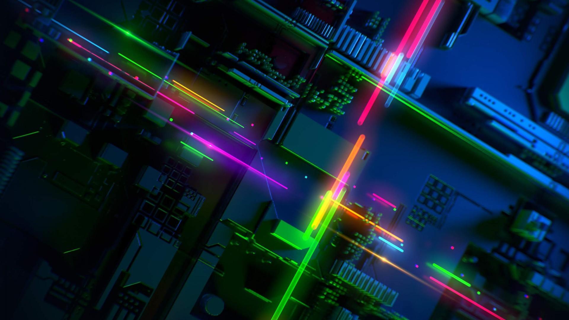 Wallpaper Razer Phone 2, abstract