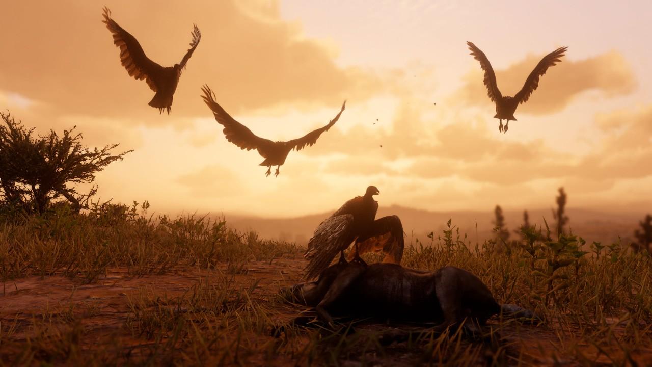 Wallpaper Red Dead Redemption 2 screenshot 4K Games 20466
