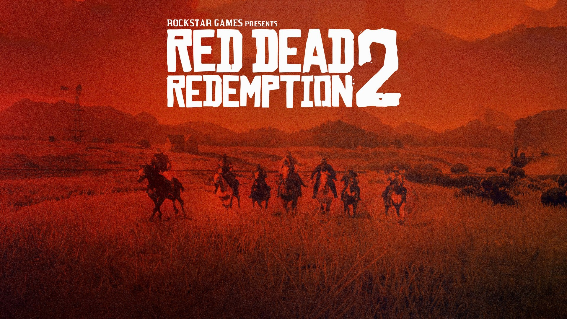 Wallpaper Red Dead Redemption 2, poster, 4K, Games #18211