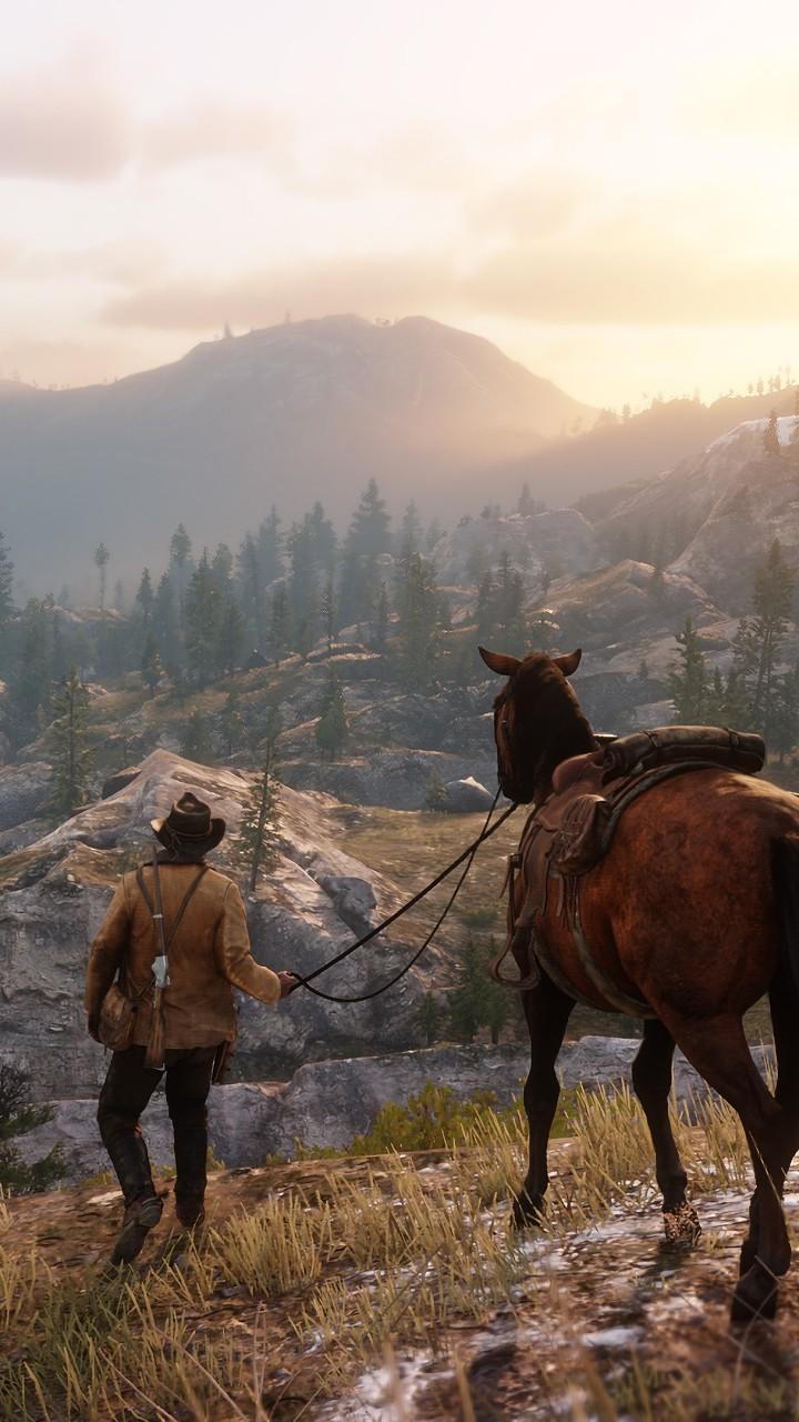 Wallpaper Red Dead Redemption 2, screenshot, 4K, Games #18213