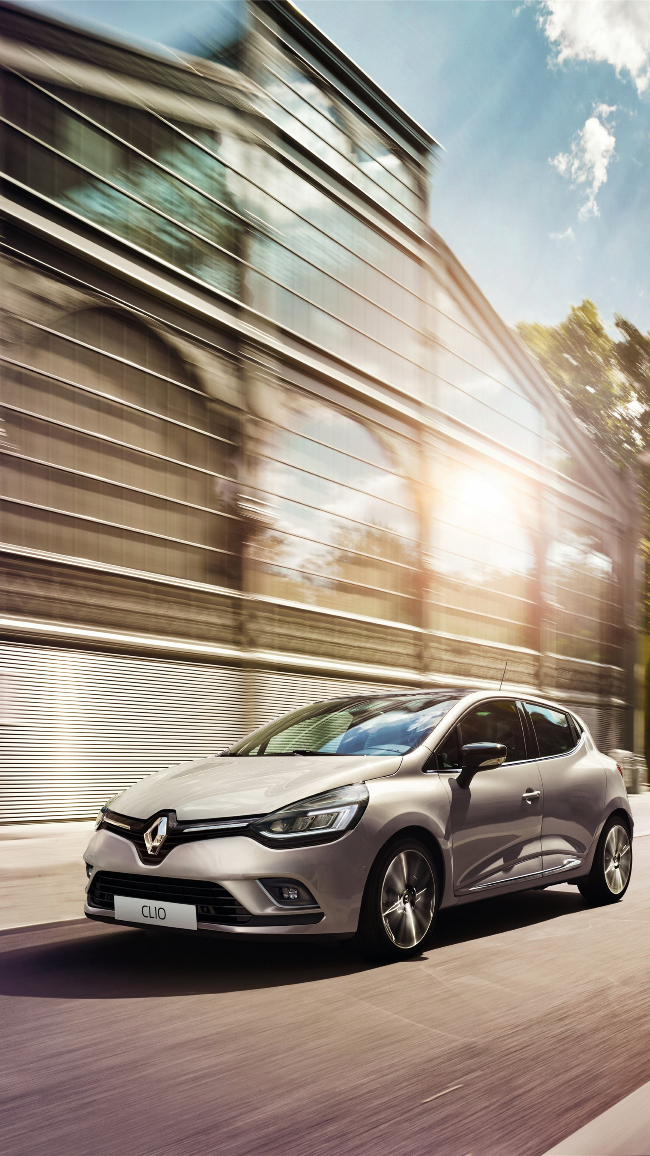 Wallpaper Renault Clio Hatchback Silver Cars Bikes 11262 Page 2