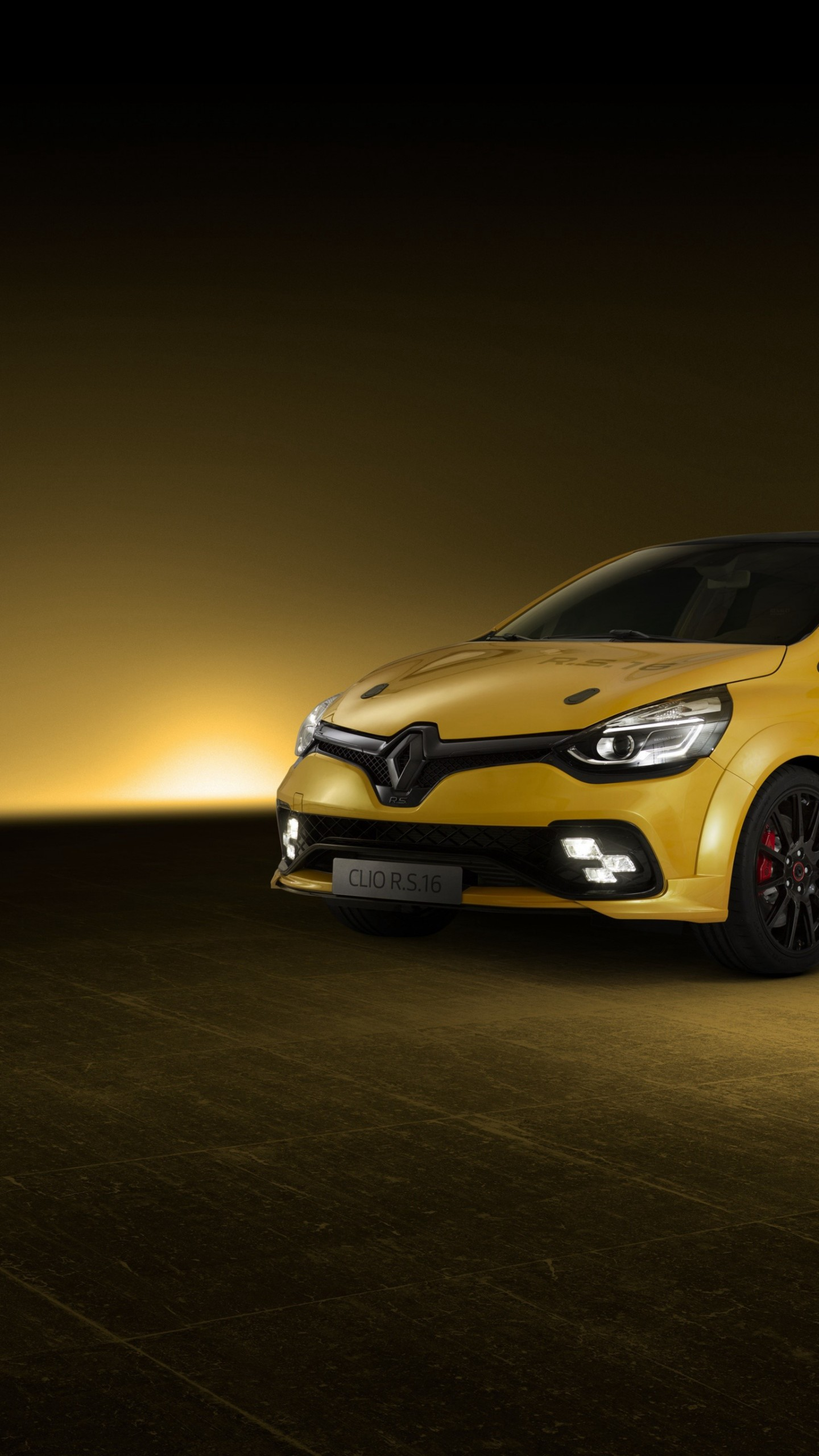 Wallpaper Renault Clio Rs 16 Yellow Hot Hatch Cars Bikes 10984 Page 13