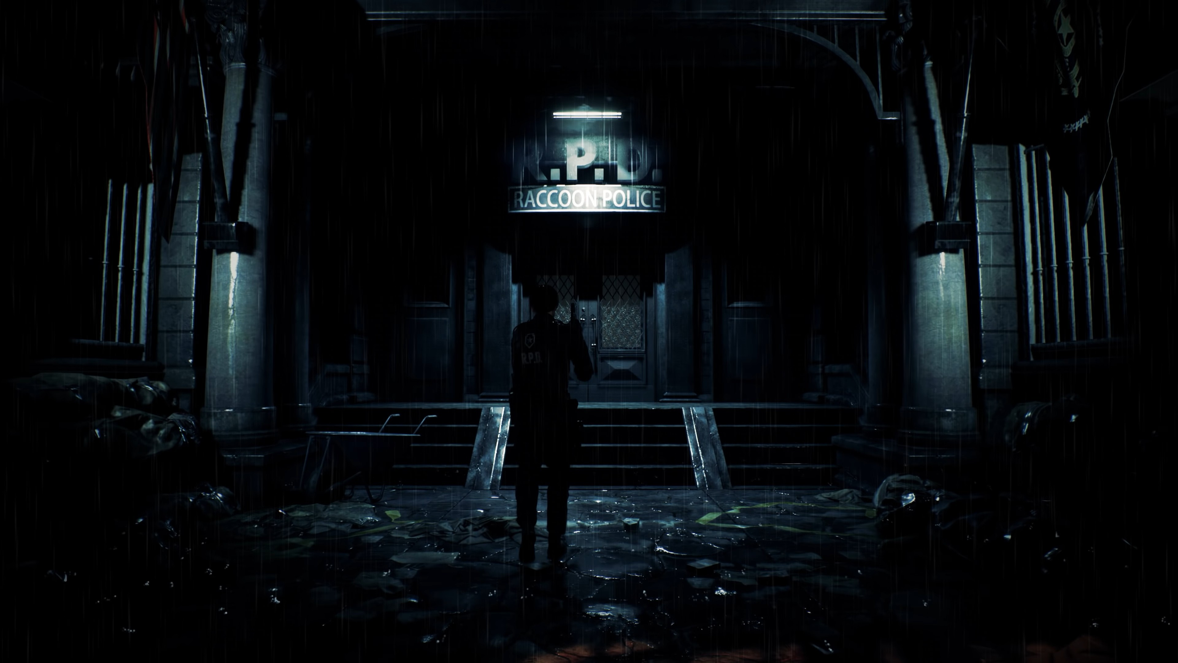 Wallpaper Resident Evil 2 E3 2018 Screenshot 4k Games 19123