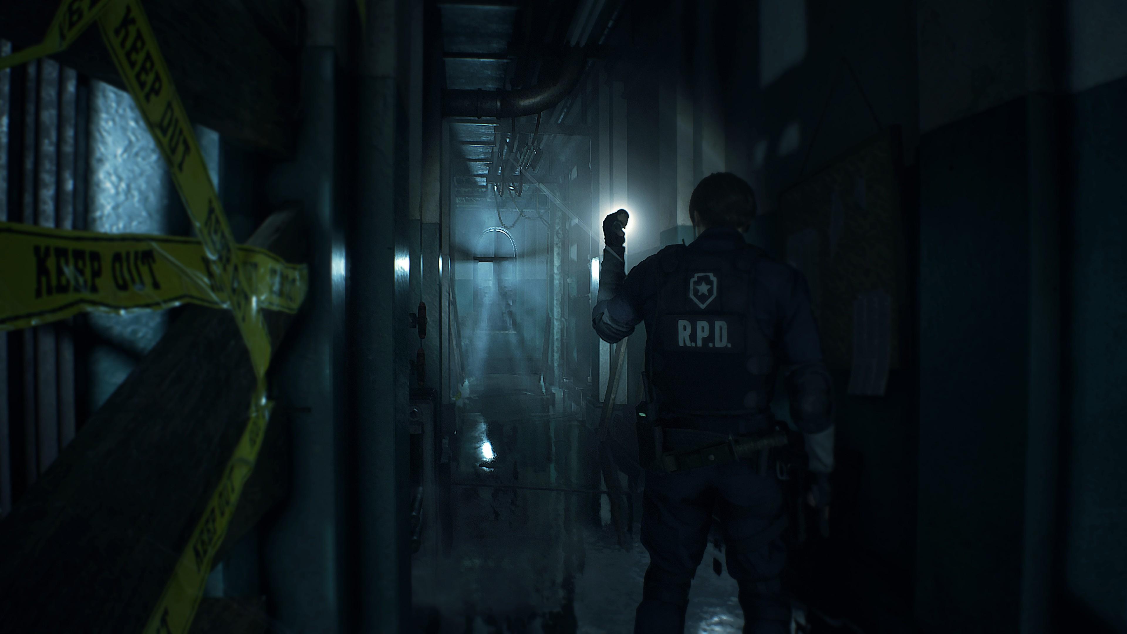 Resident Evil 2 Wallpaper: Wallpaper Resident Evil 2, E3 2018, Screenshot, 4K, Games
