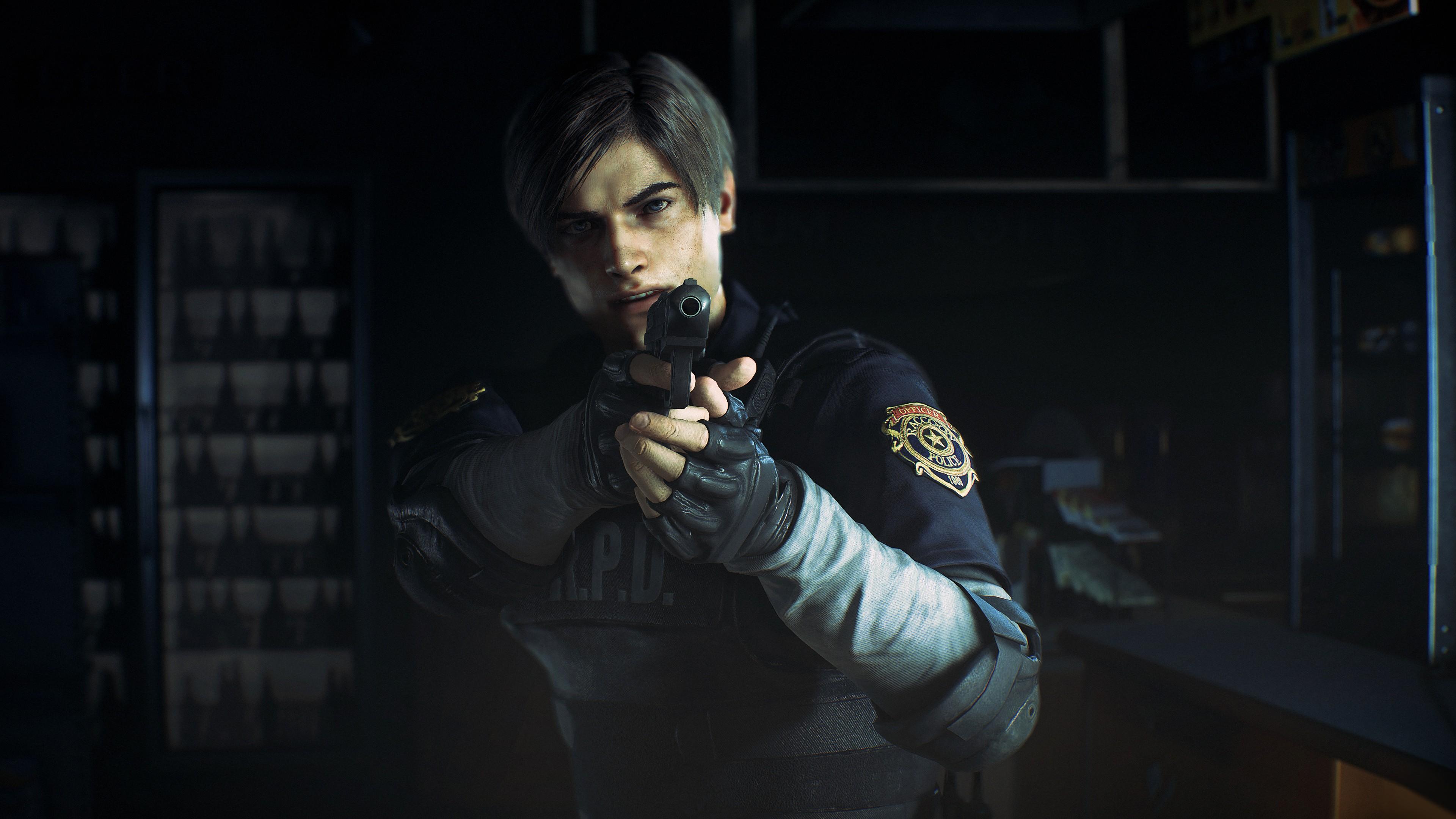 Wallpaper Resident Evil 2 E3 2018 Screenshot 4k Games 19129