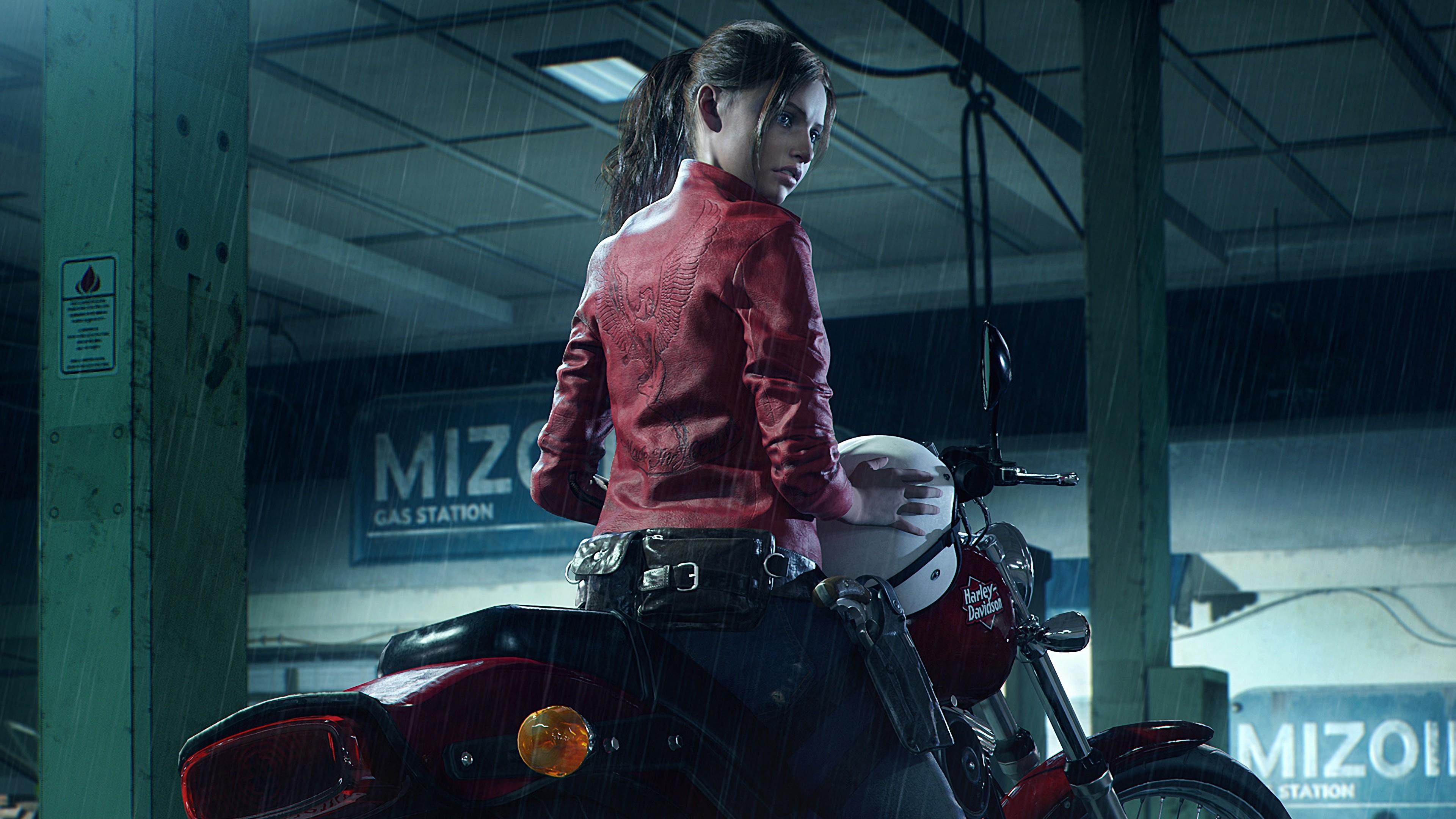 Wallpaper Resident Evil 2 E3 2018 Screenshot 4k Games 19243