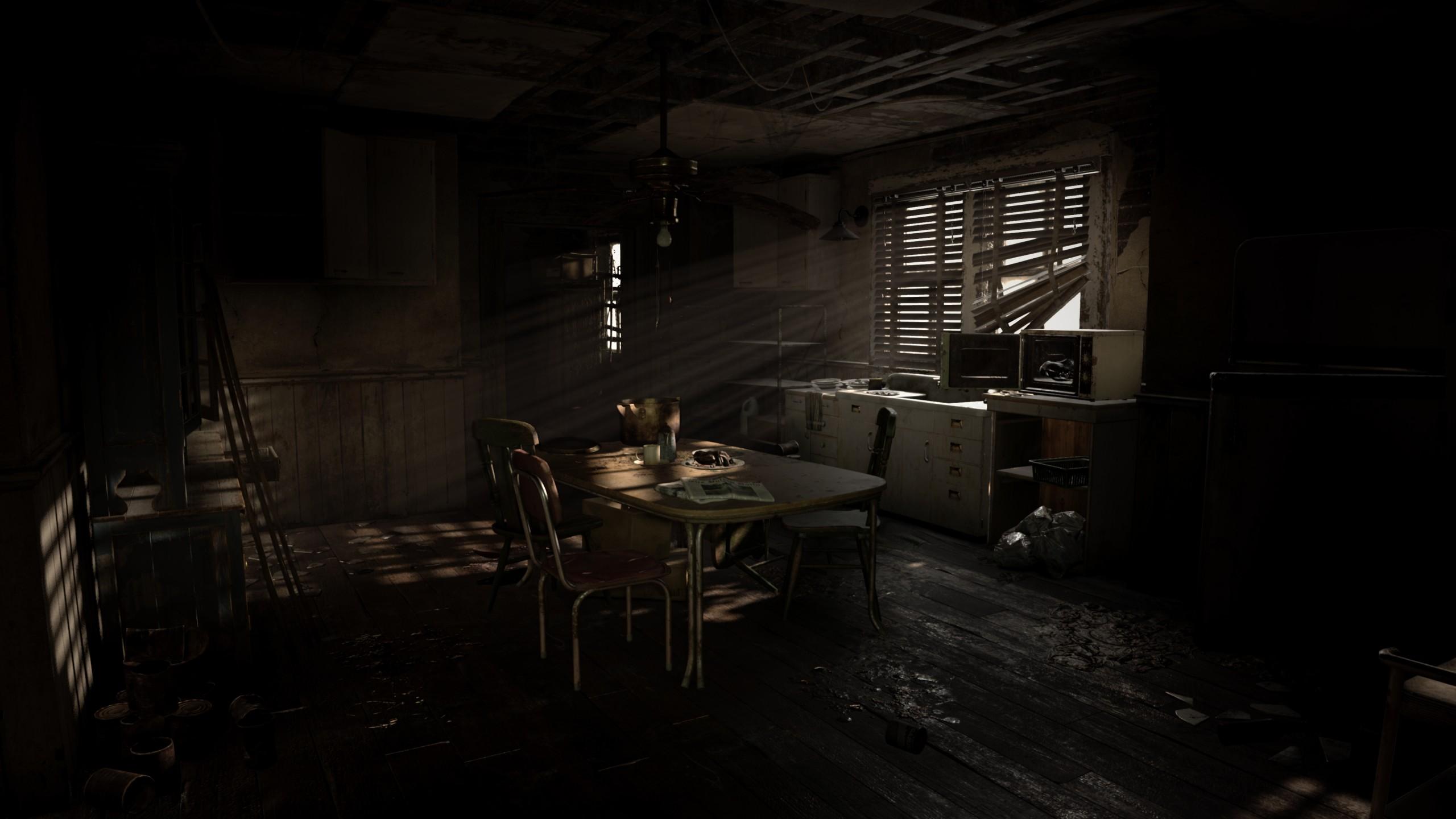 Wallpaper Resident Evil 7 Biohazard Vr Ps Vr Playstation 4
