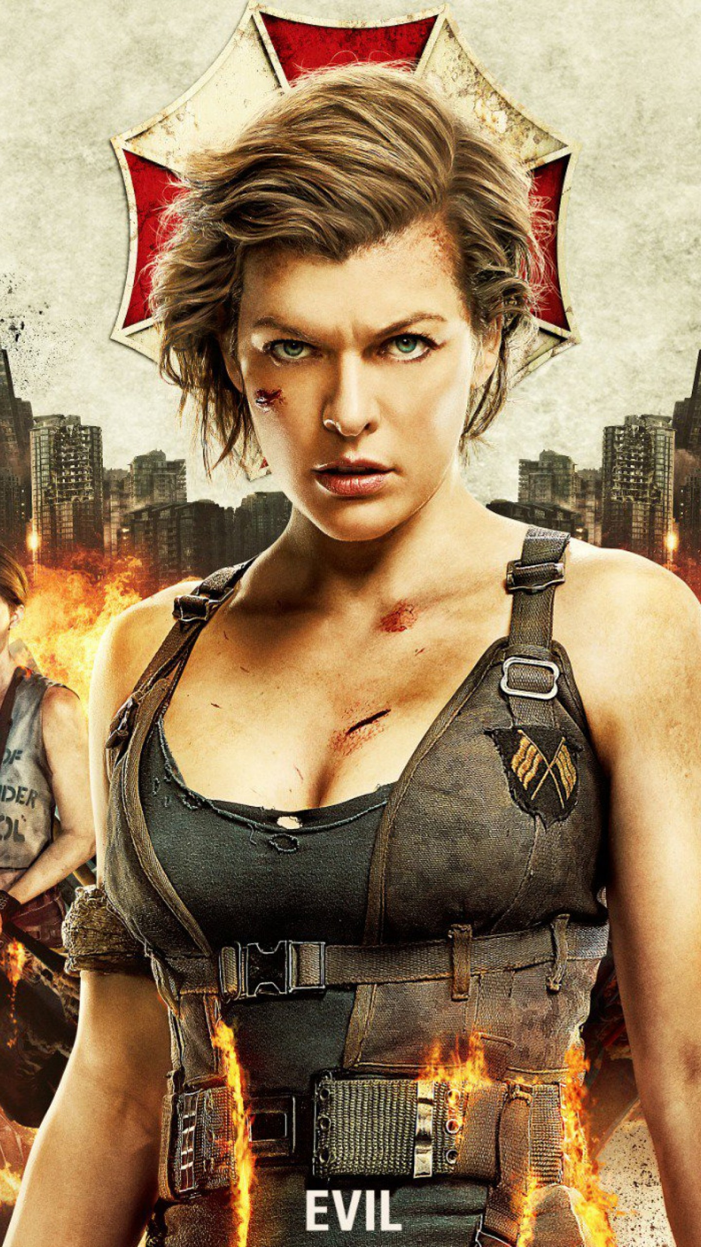 Wallpaper Resident Evil: The Final Chapter, Milla Jovovich ...