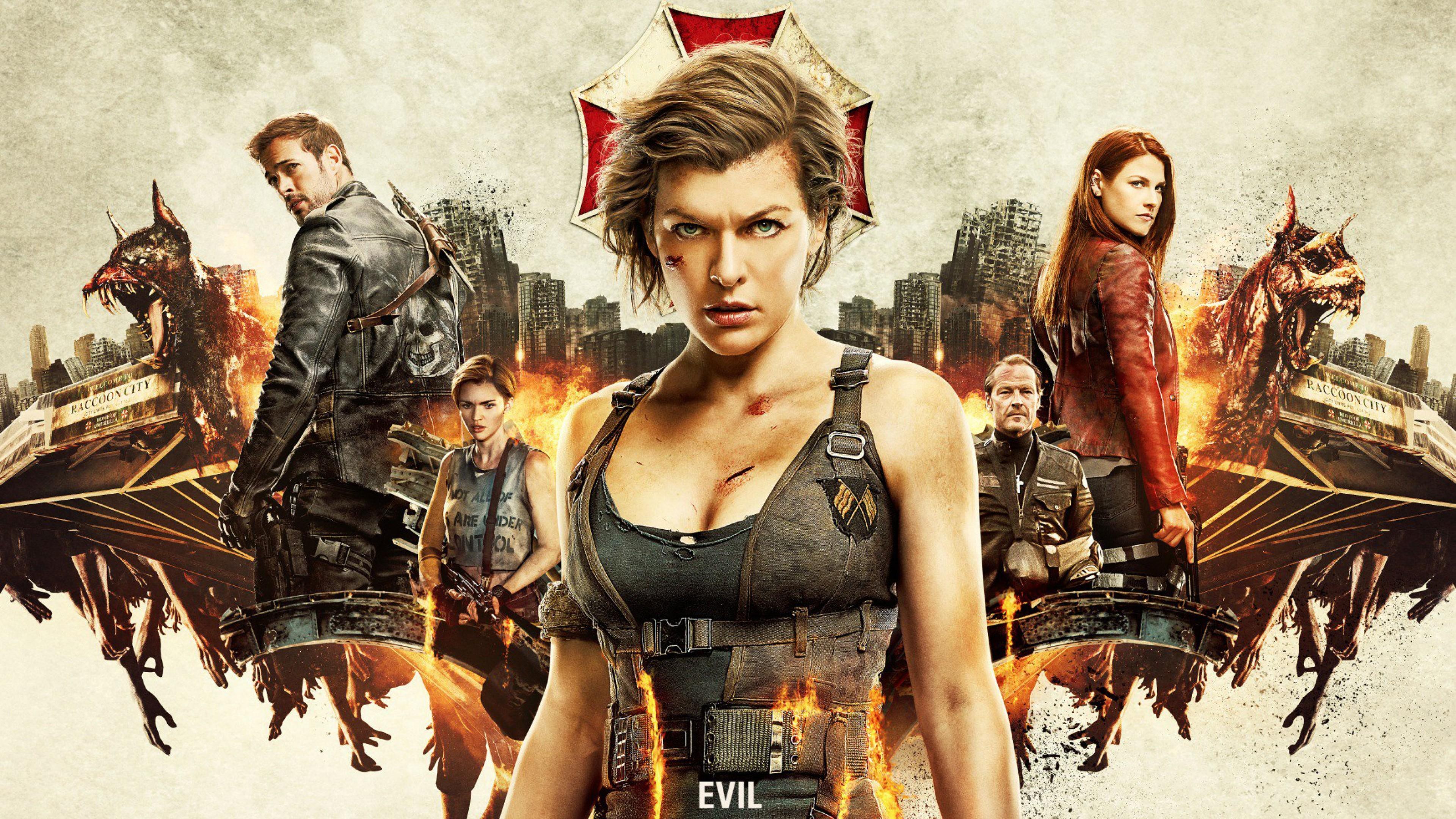 Milla Jovovich Ruby Rose Resident Evil The Final Chapter: Wallpaper Resident Evil: The Final Chapter, Milla Jovovich