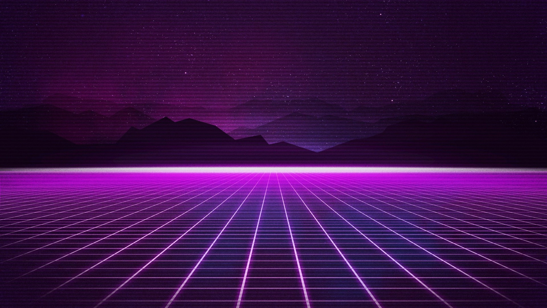 Wallpaper retrowave purple lines 4k art 18921 - Space 80s wallpaper ...