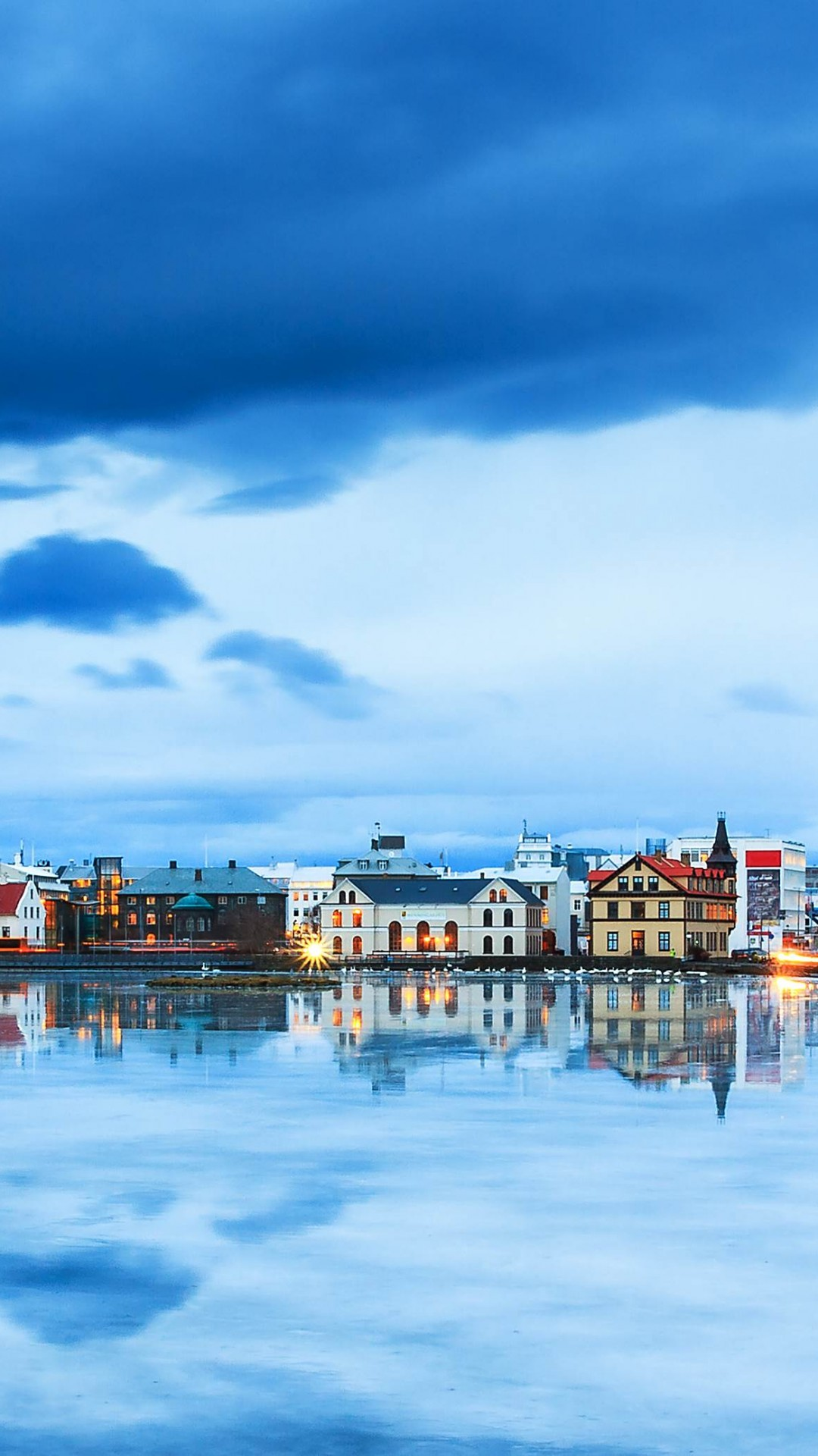 Wallpaper Reykjavik Iceland River Sky 4k Travel 16590