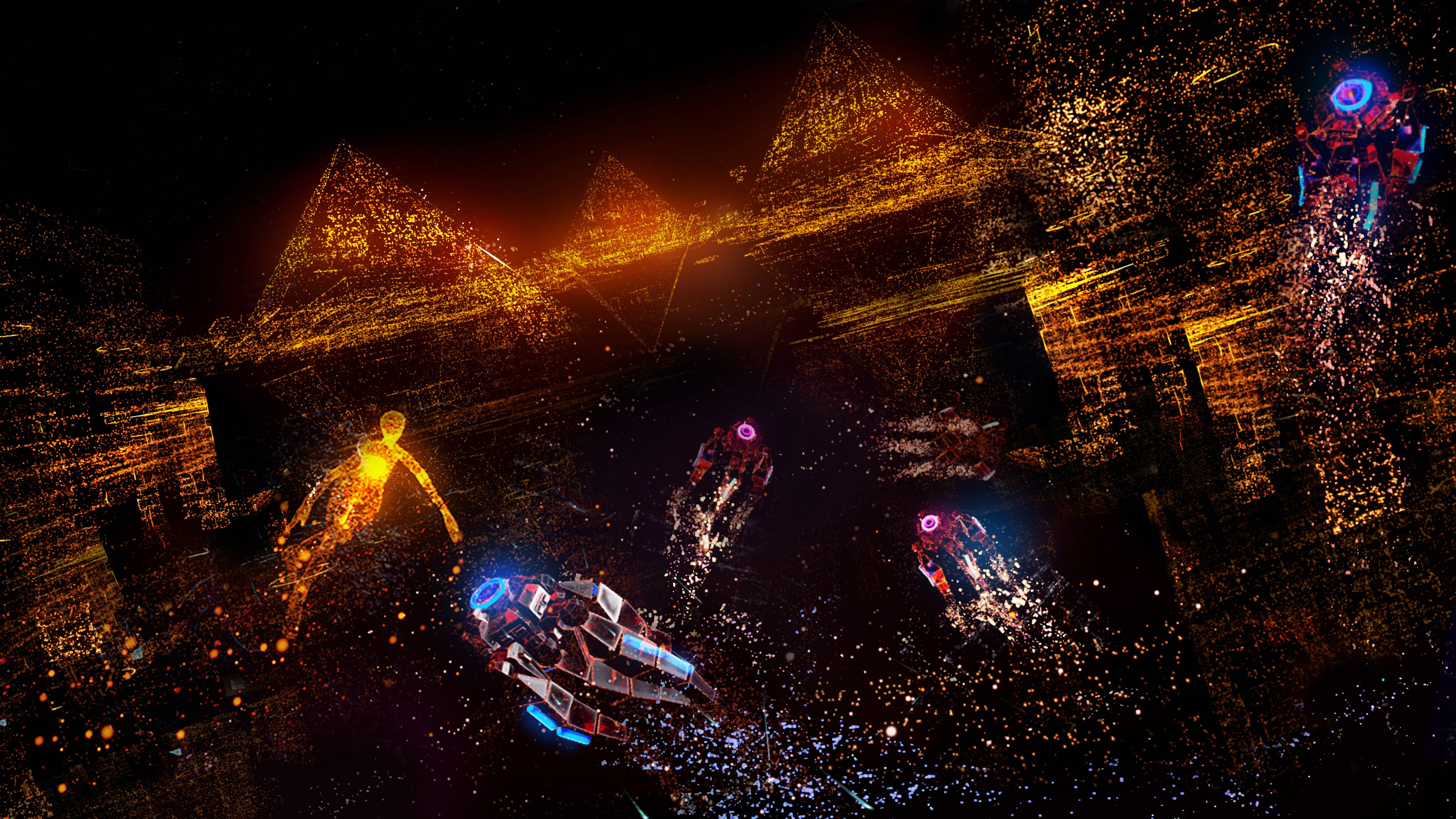 Wallpaper Rez Infinite Area X VR PS PS4 Games 12405