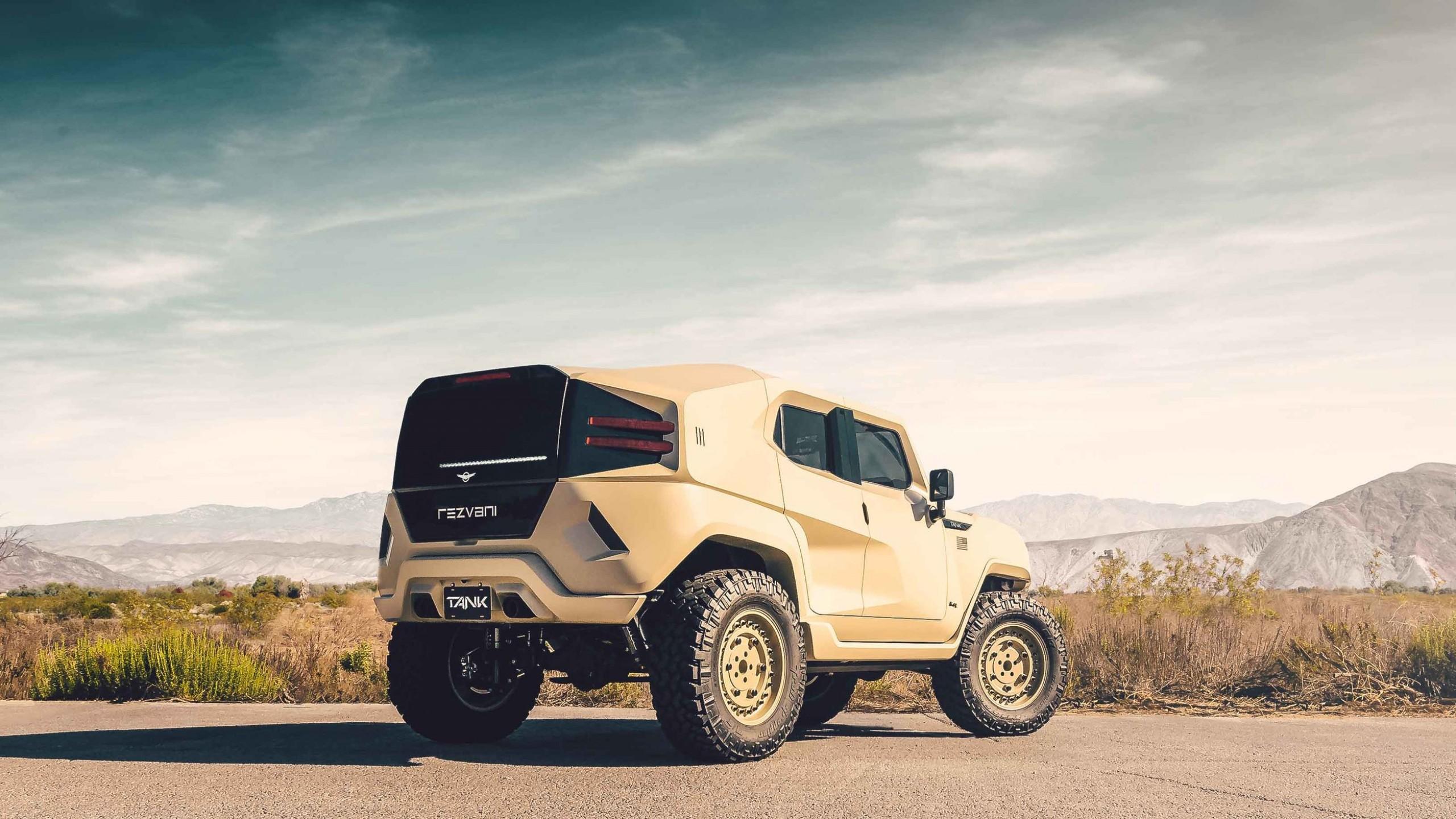 Wallpaper Rezvani Tank Military, SUV, 2018 Cars, HD, Cars ...