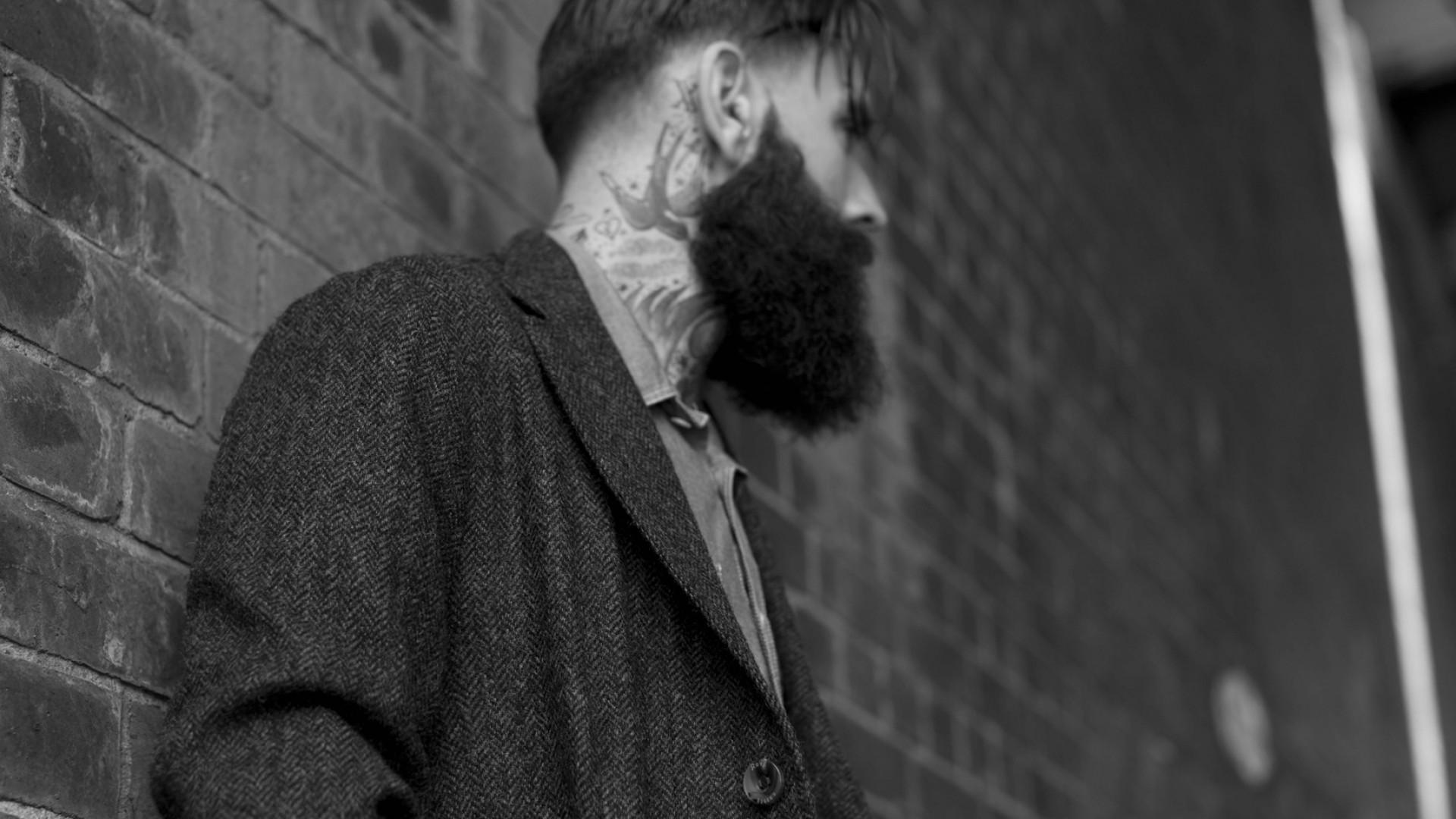 Wallpaper Ricki Hall Model Actor Old School Tattoo