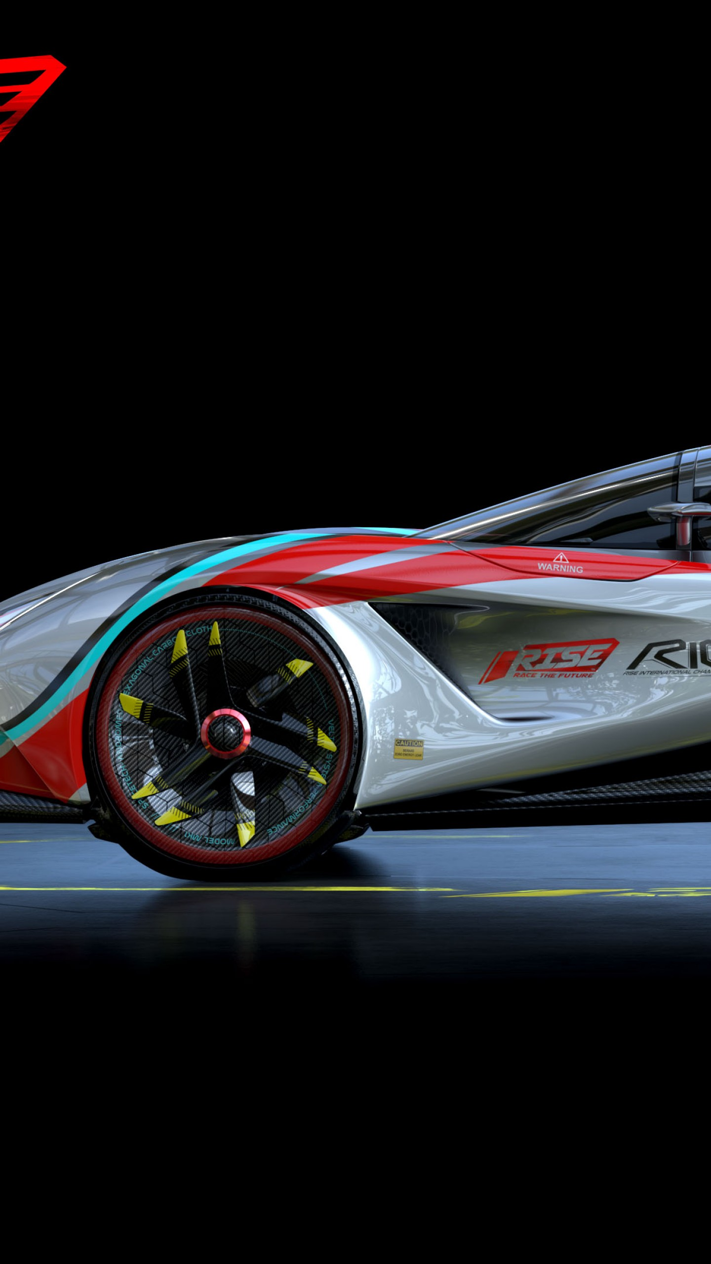 Wallpaper Rise Race The Future Supercar Racing Pc