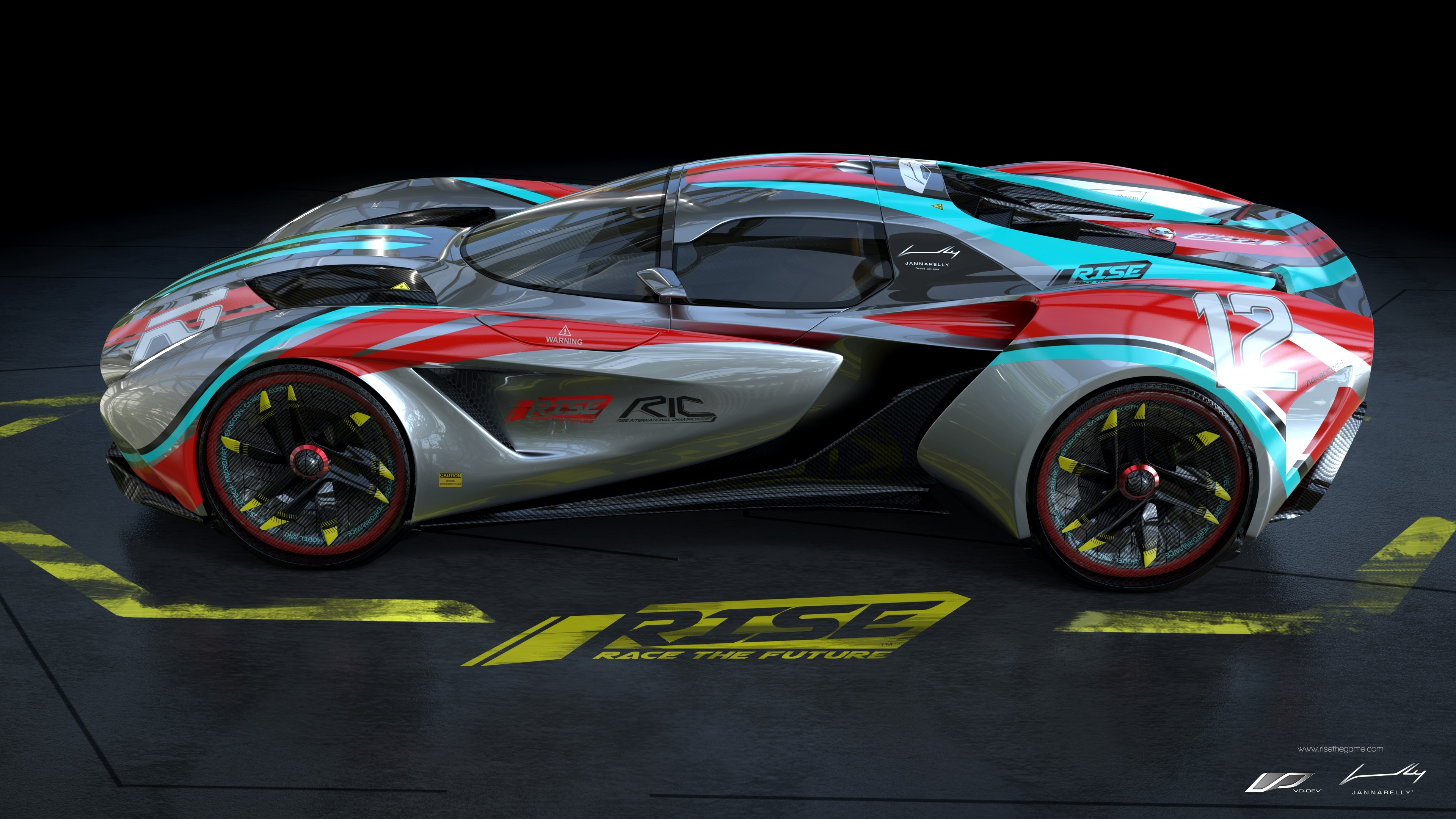 Wallpaper Rise Race The Future Supercar Racing Pc Playstation