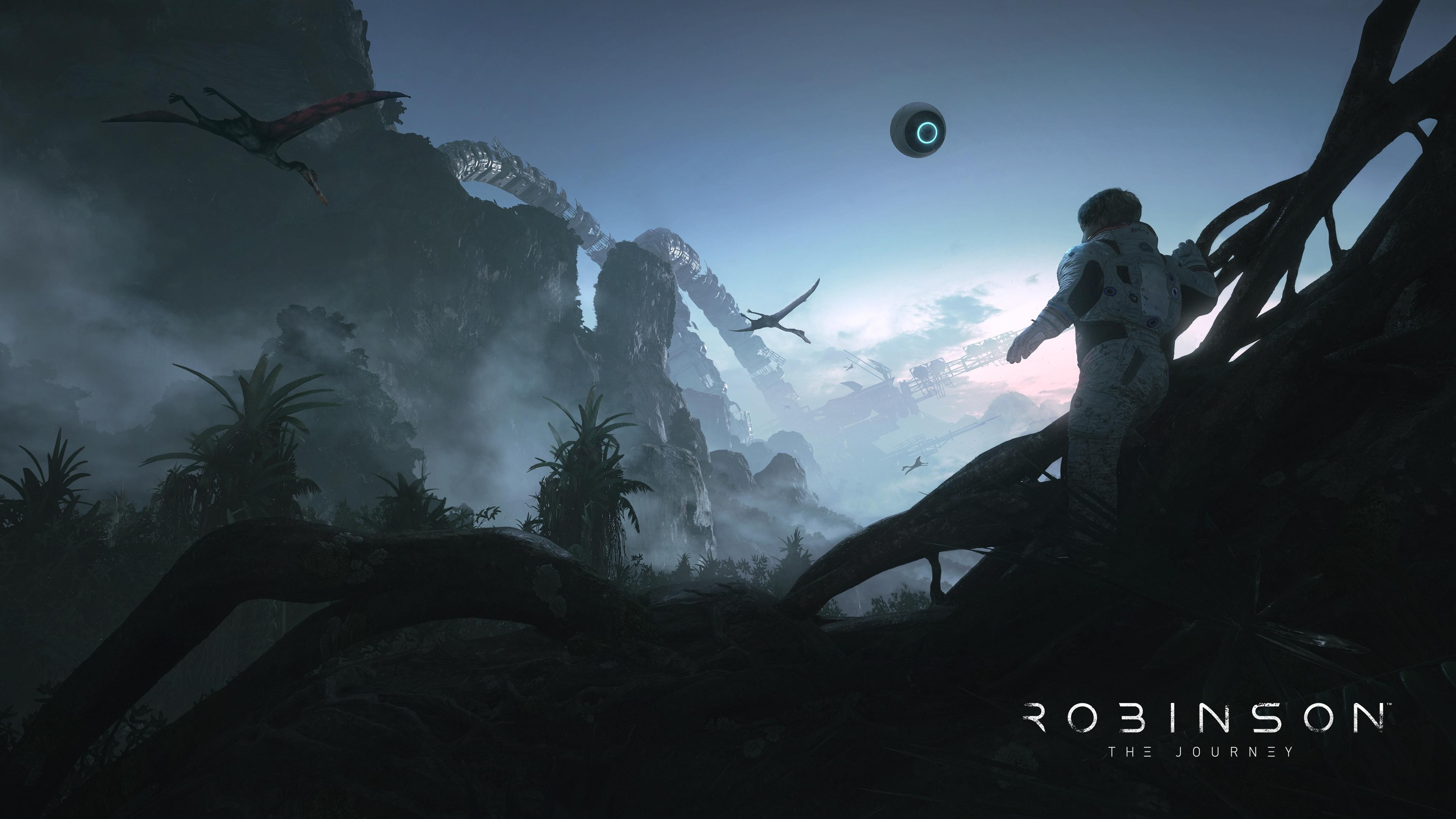 Wallpaper Robinson The Journey VR PS PS4 Games 12374