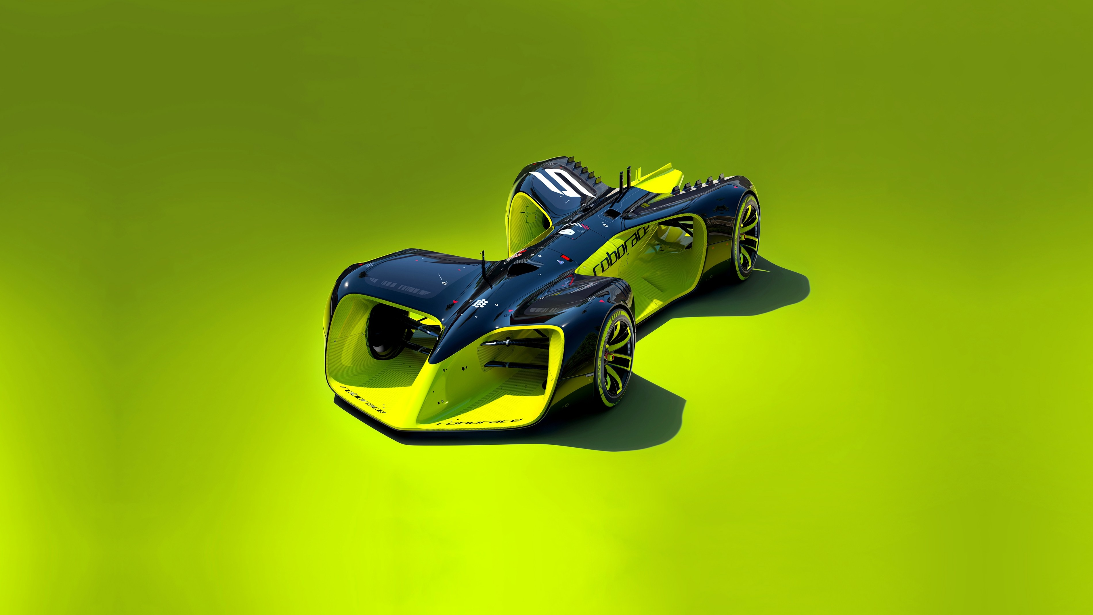 Wallpaper Roborace, future cars, Hybrid, Formula E season ...